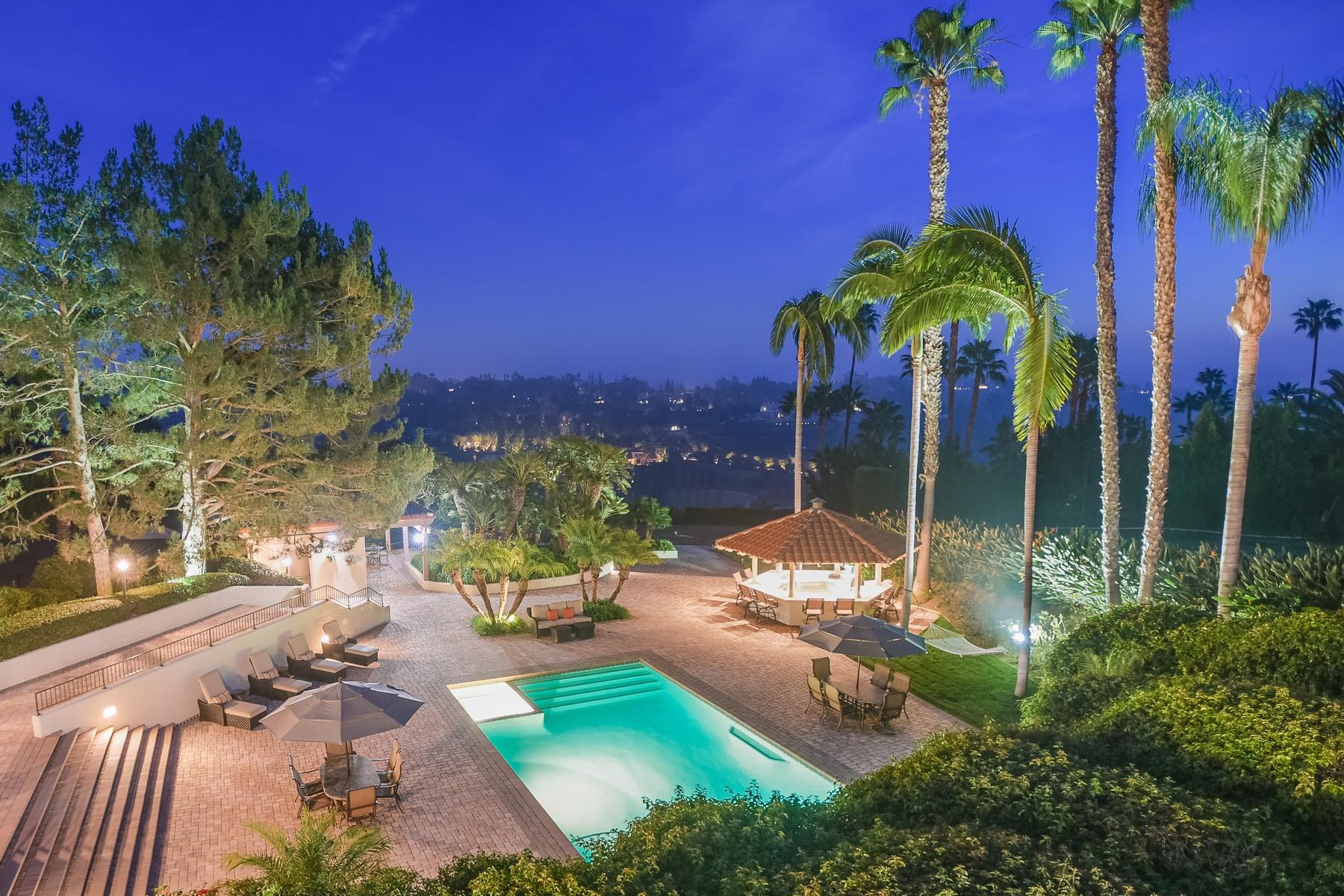 Частный односемейный дом для того Продажа на 6849 Las Colinas Rancho Santa Fe, Калифорния, 92067 Соединенные Штаты