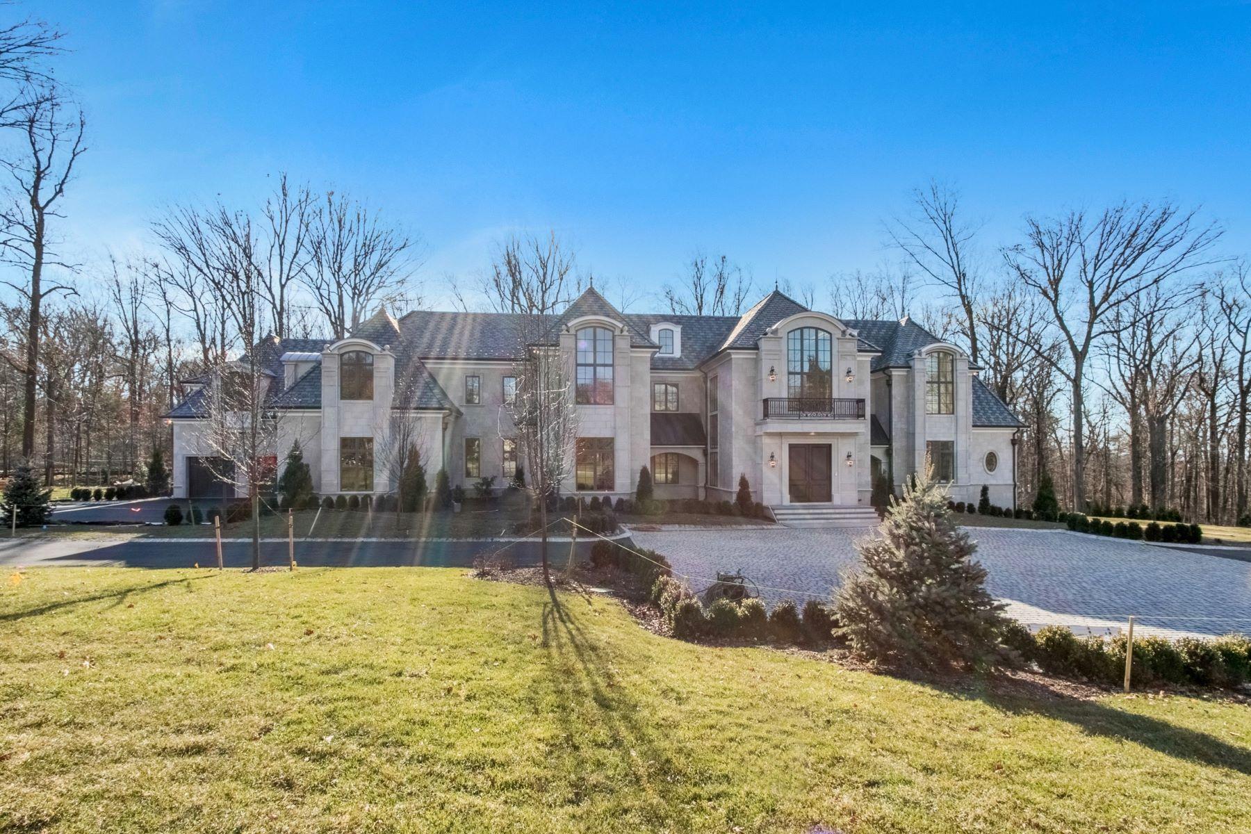 Eensgezinswoning voor Verkoop op Exquisite Custom Manor 24 Cambridge Way, Alpine, New Jersey 07620 Verenigde Staten