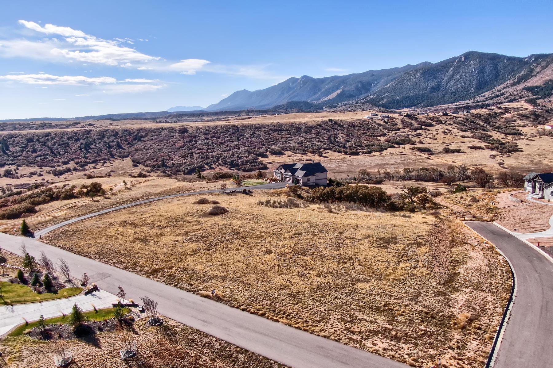 土地 のために 売買 アット Build your dream home in beautiful Forest Lakes! 3955 Mesa Top Dr Monument, コロラド 80132 アメリカ