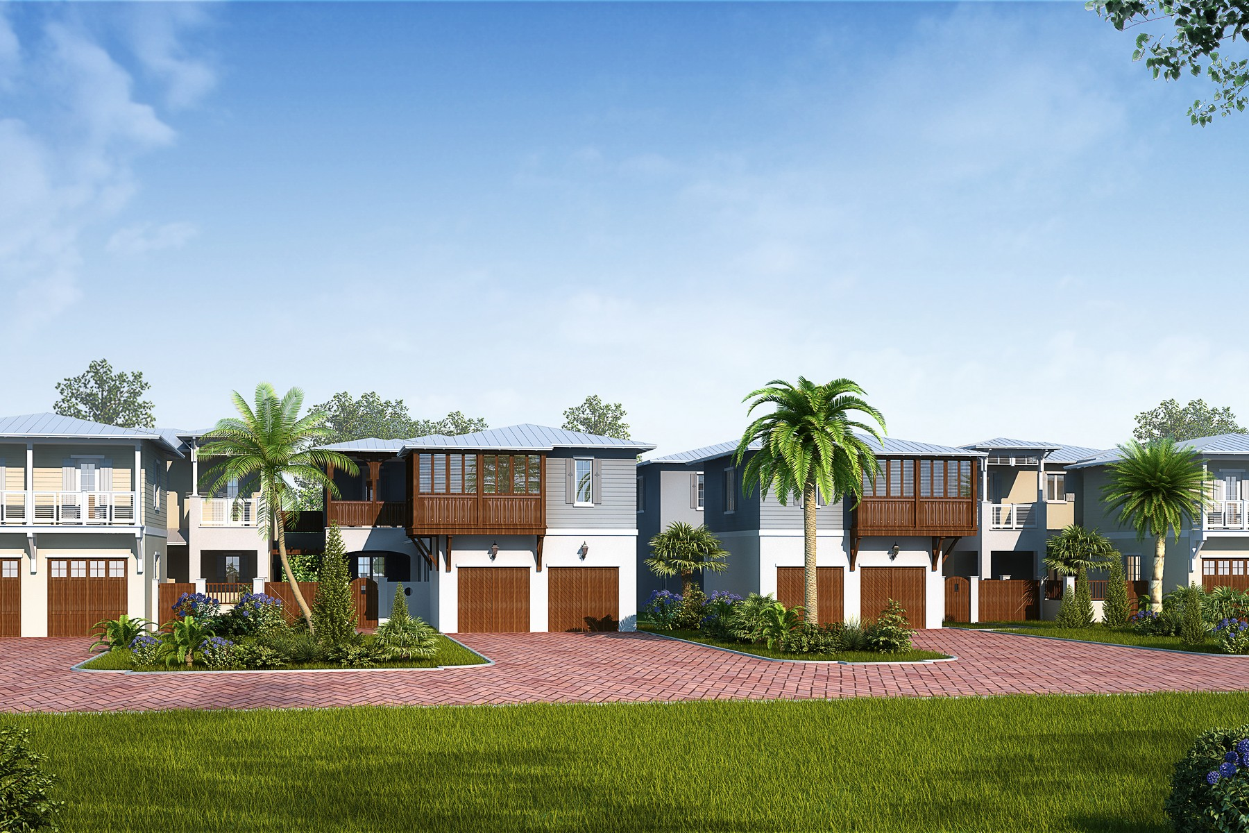 Single Family Home for Sale at Avenues of Melbourne Beach 410 Ocean Avenue Melbourne Beach, Florida 32951 United States