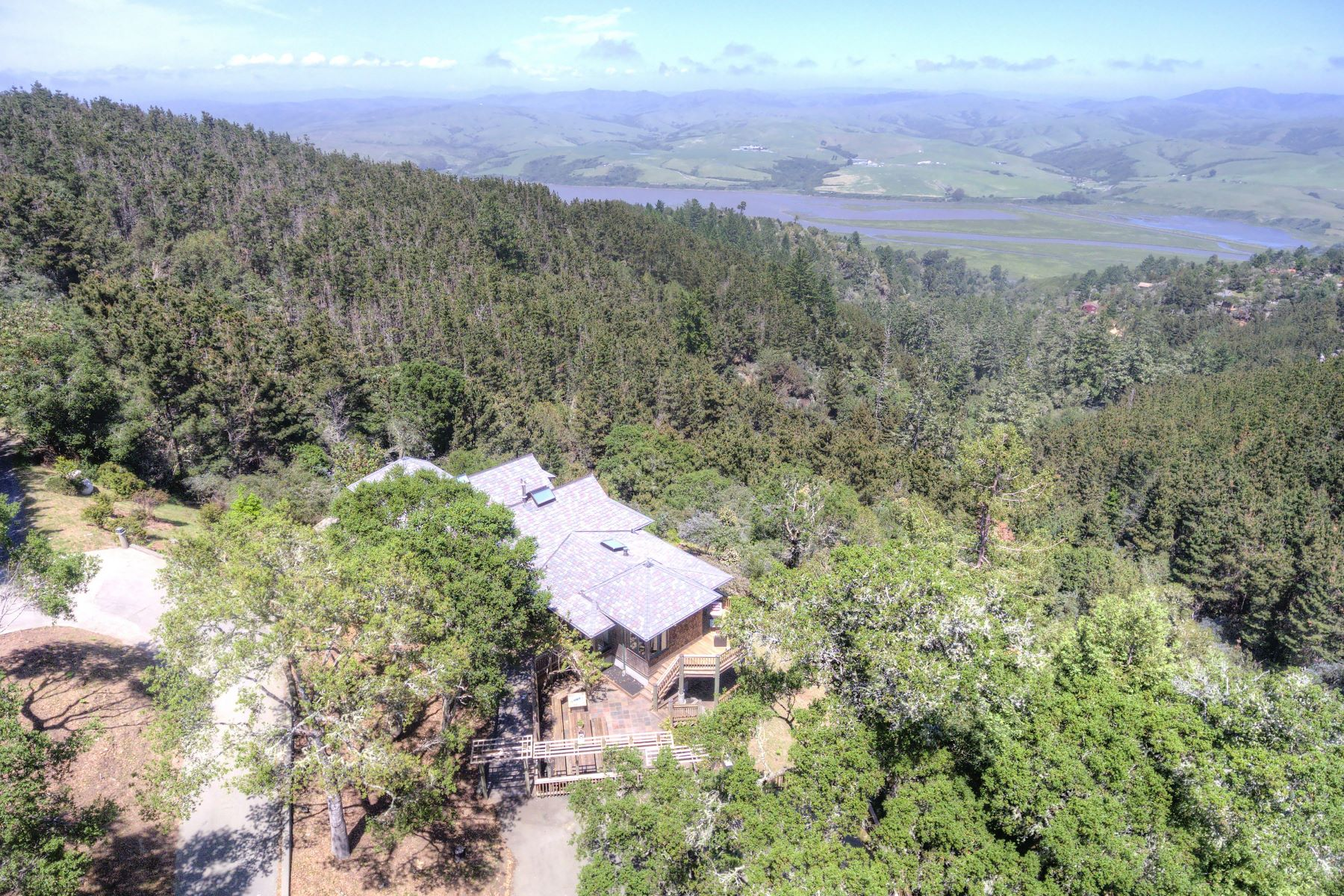 Single Family Home for Sale at The Raven's Roost 30 Buck Point Road Inverness, California 94937 United States