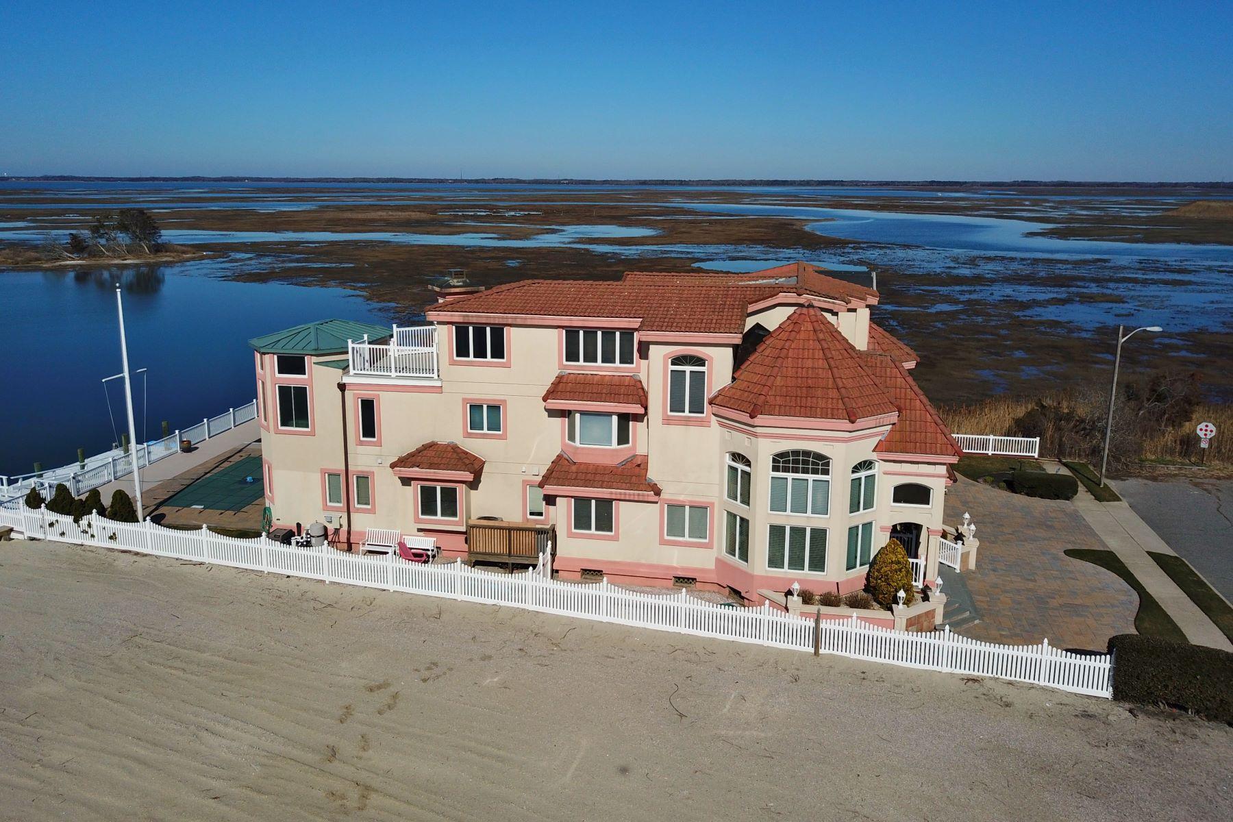 단독 가정 주택 용 매매 에 Premier Bayfront Masterpiece 606 42nd Street, Avalon, 뉴저지 08202 미국