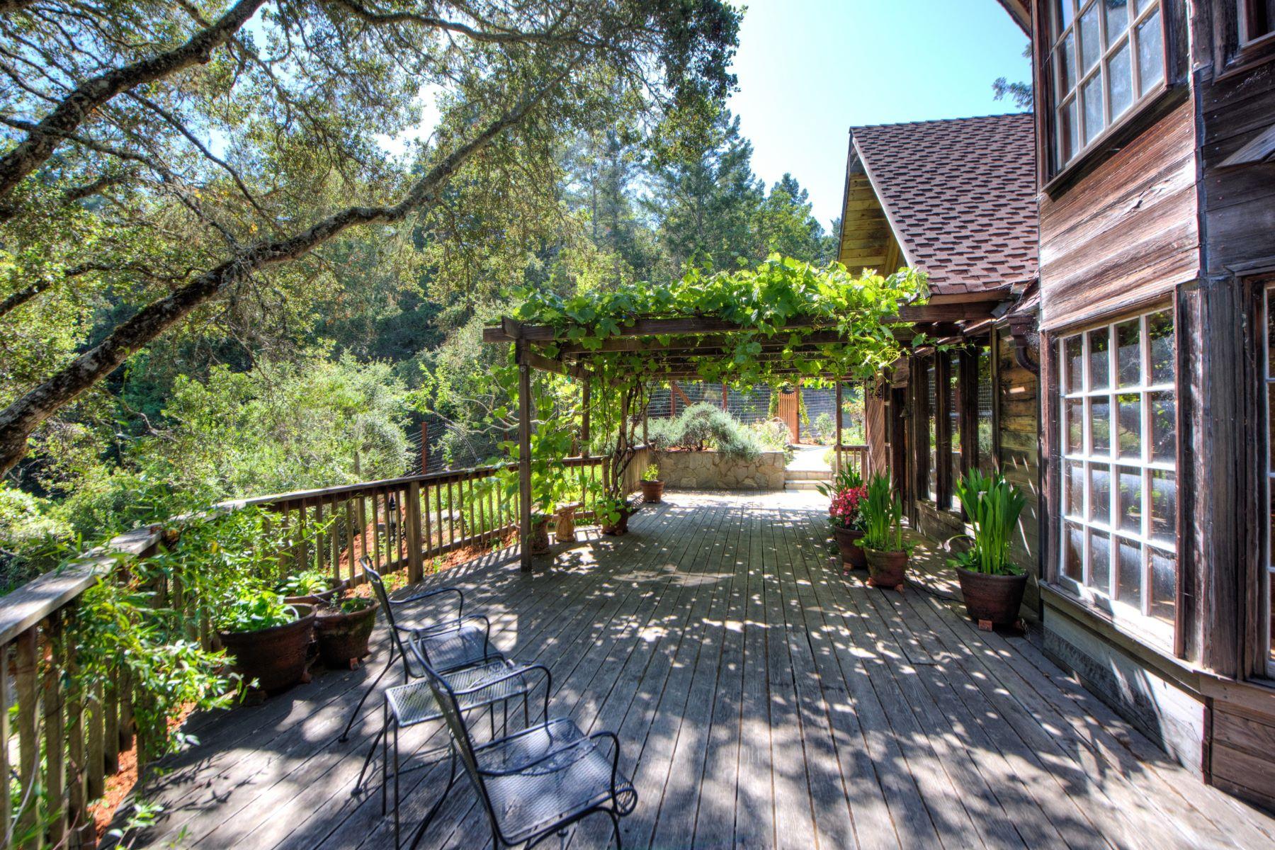 Maison unifamiliale pour l Vente à Enchanting Setting 1949 Nicasio Valley Road Nicasio, Californie 94946 États-Unis