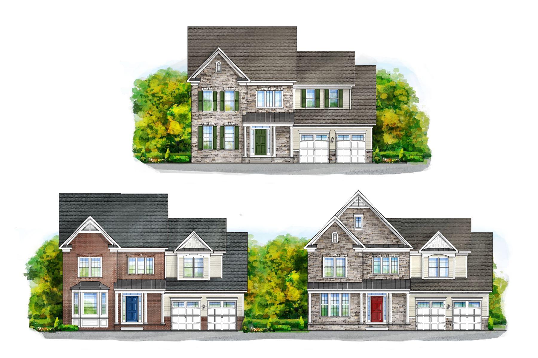 Single Family Homes por un Venta en Chapel Knoll Estates 10808 White Trillium Road Perry Hall, Maryland 21128 Estados Unidos