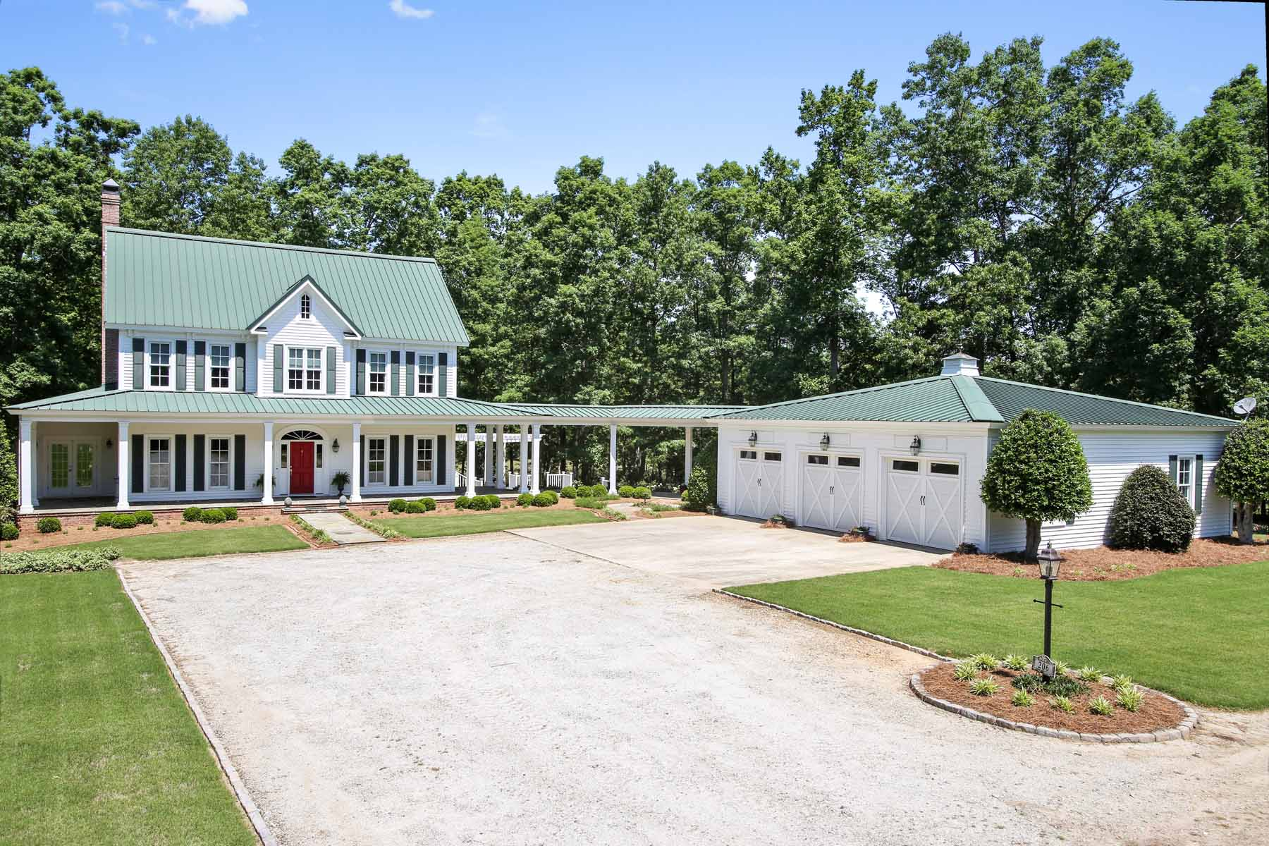 Farm / Ranch / Plantation for Sale at Georgian Equestrian Estate 206 Morgan Dairy Road Griffin, Georgia, 30224 United States