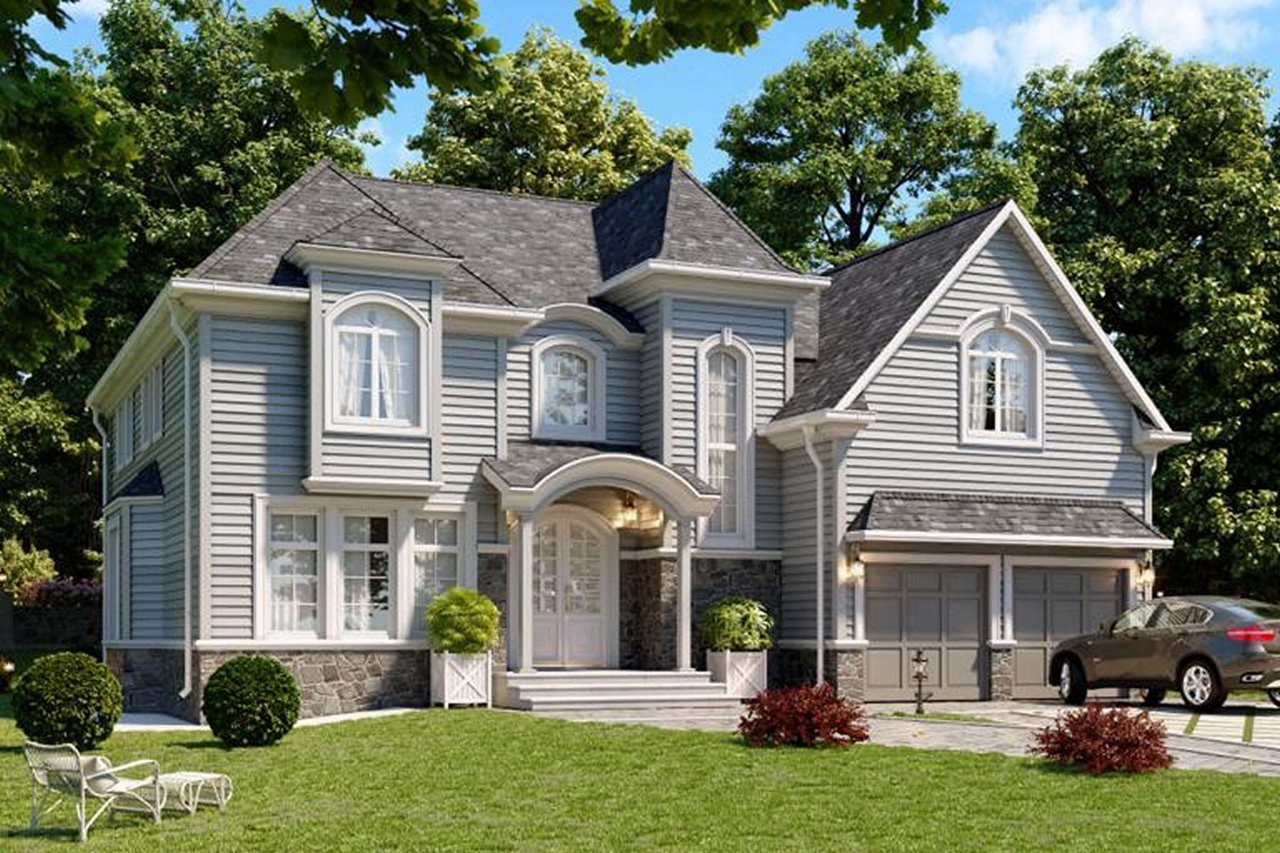 Single Family Homes for Sale at Dream Home 63 Park St Tenafly, New Jersey 07670 United States