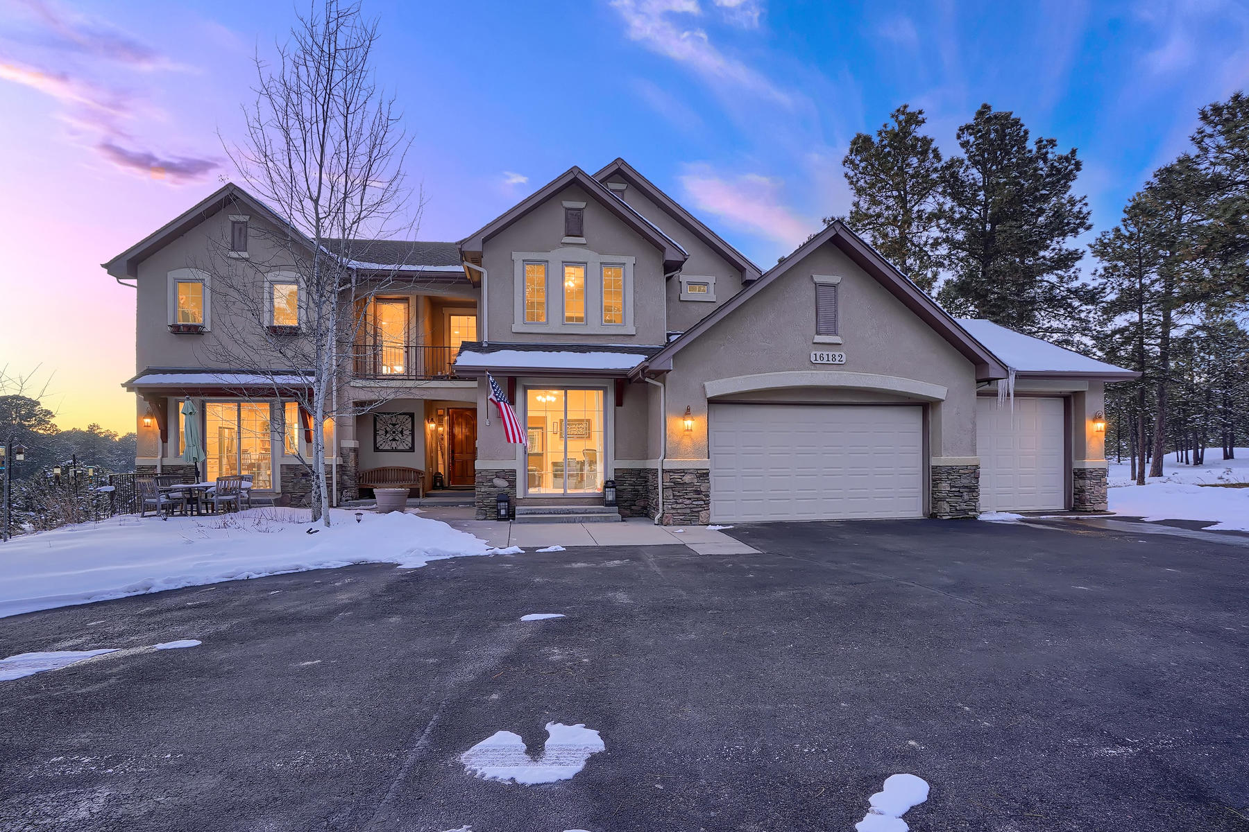 Single Family Homes for Sale at Secluded Black Forest Sanctuary 16182 Timber Meadow Drive Colorado Springs, Colorado 80908 United States