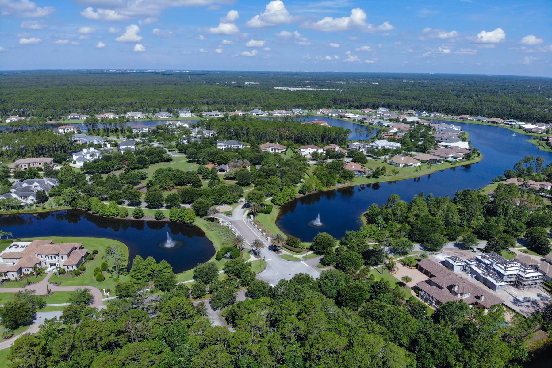 Terrain pour l Vente à Beautiful Lakefront Estate Lot in Pablo Creek Reserve 5288 Hidden Hollow Ct Jacksonville, Florida 32224 États-Unis