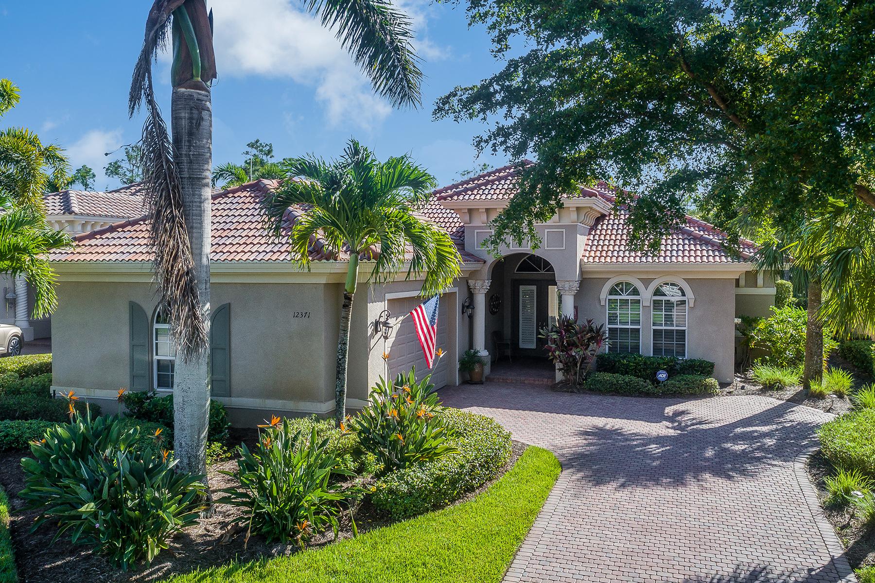 Single Family Homes por un Venta en RENAISSANCE - VILLAGIO 12371 Villagio Way, Fort Myers, Florida 33912 Estados Unidos