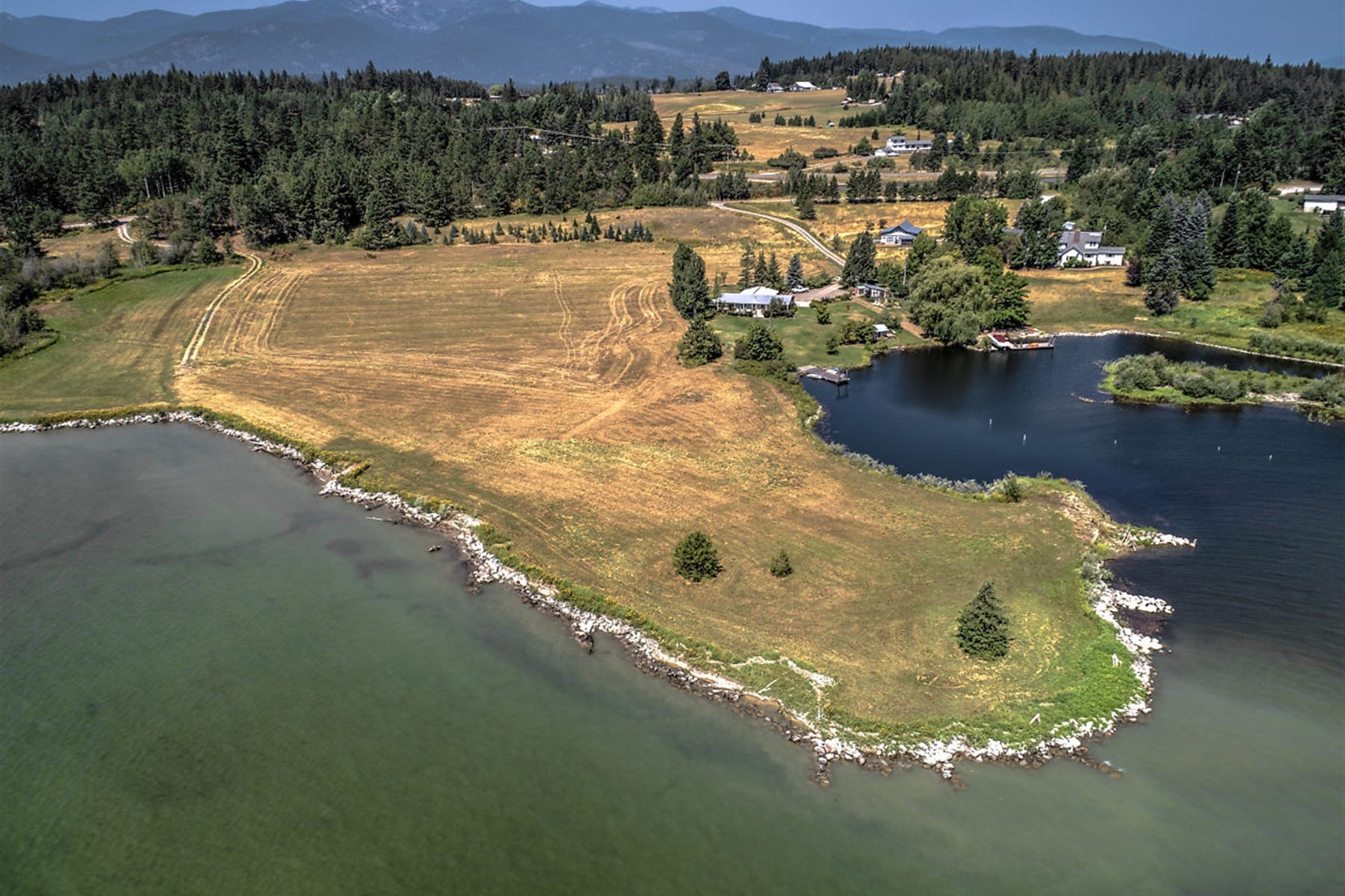 Land for Active at 10-Acre Estate Quality Waterfront 232 Kaniksu Shores Sandpoint, Idaho 83864 United States