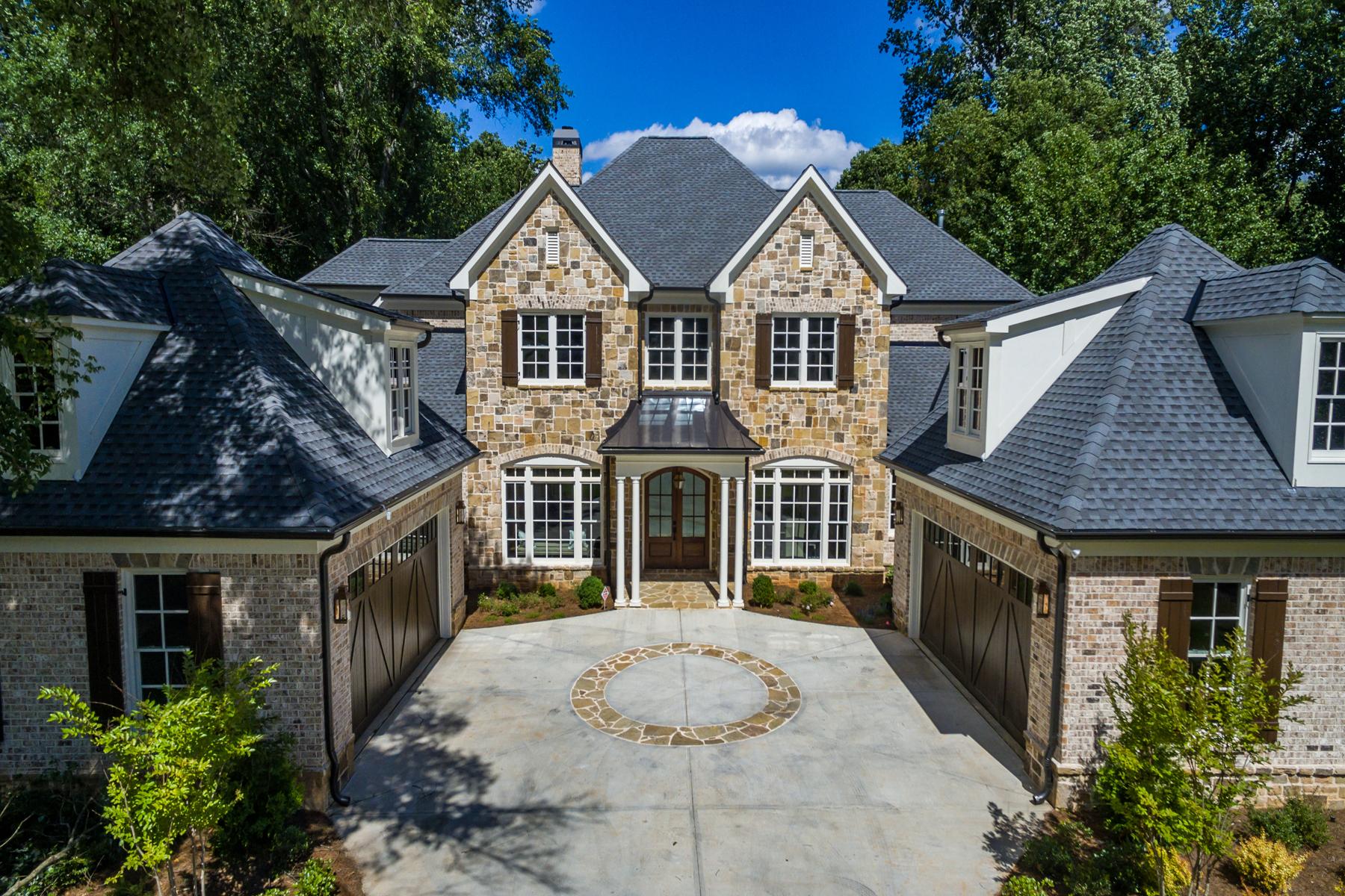 Casa Unifamiliar por un Venta en New Home In Chastain 4685 Lake Forrest Drive Atlanta, Georgia, 30342 Estados Unidos