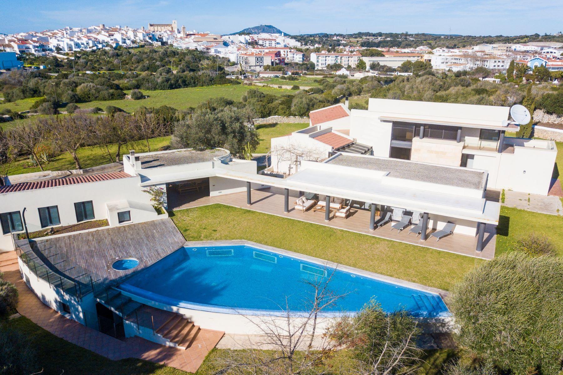 獨棟家庭住宅 為 出售 在 Modern villa with gym and spa Menorca, 梅諾卡島, 西班牙