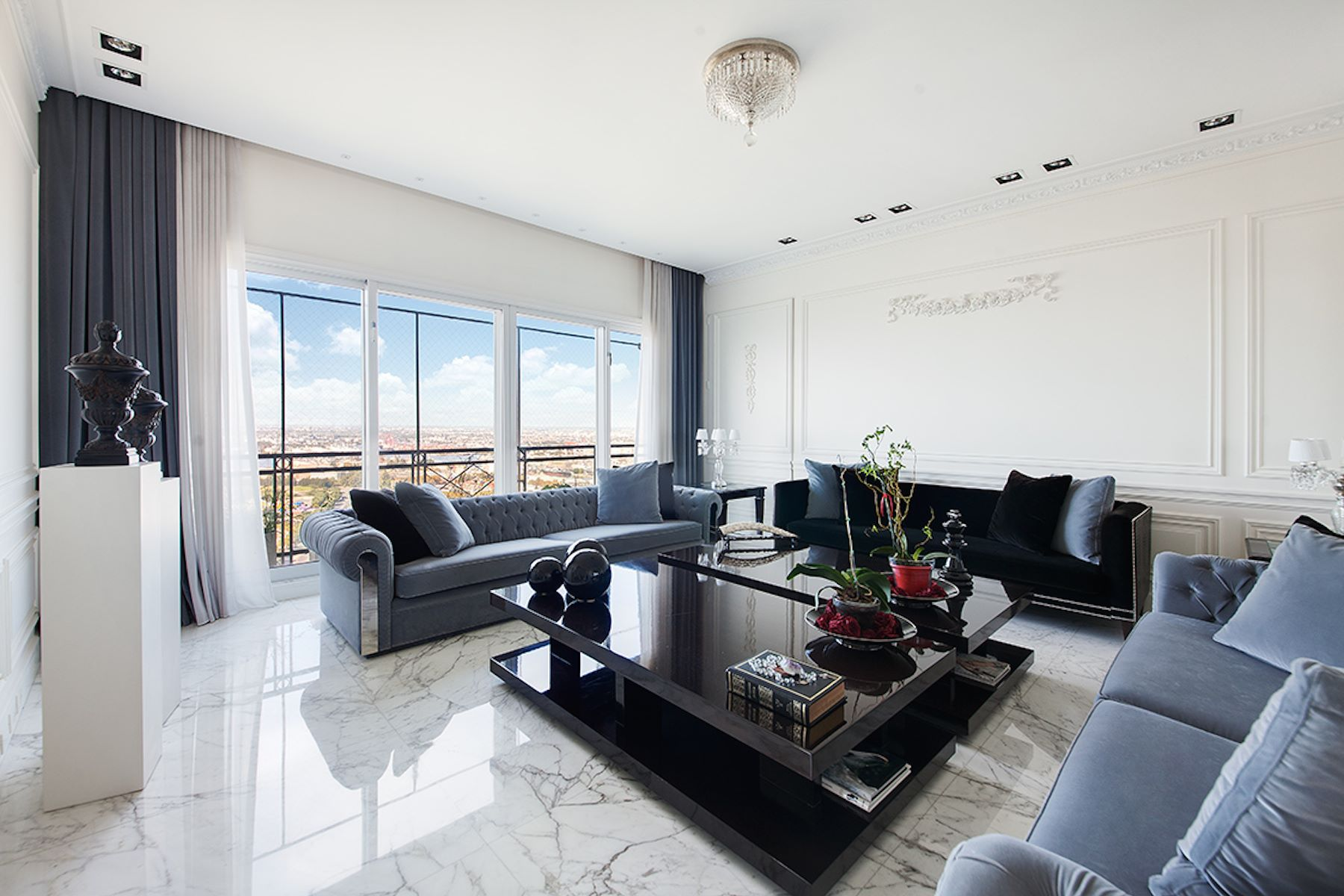 Apartment for Sale at Refined Residence in Chateau Building - Puerto Madero Puerto Madero, Buenos Aires, Buenos Aires Argentina