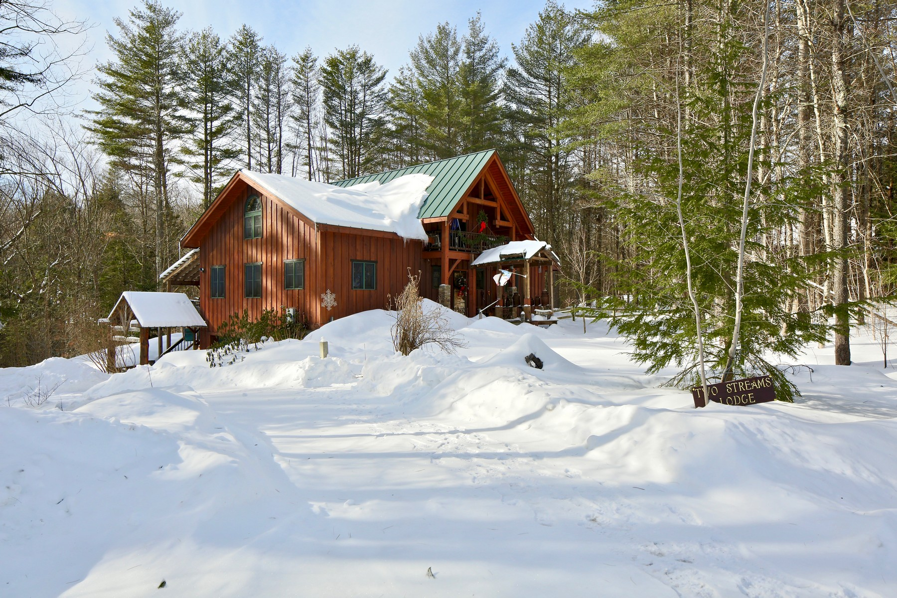 Single Family Home for Sale at Cedarbuilt Timberframe on 10 Acres 693 Chapman Rd Ludlow, Vermont 05149 United States