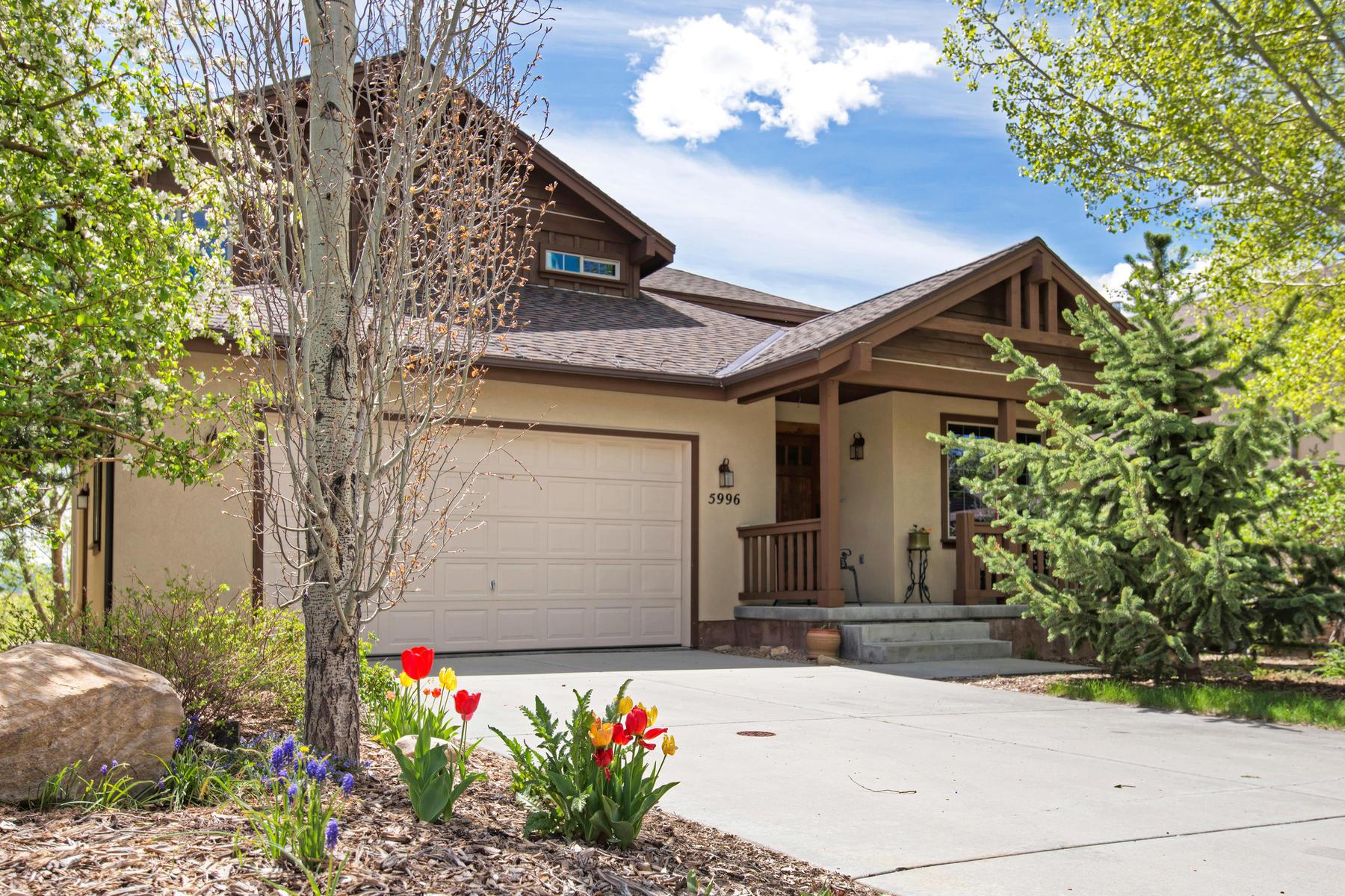 Частный односемейный дом для того Продажа на Beautifully Remodeled and Impeccably Maintained 5996 Fairview Dr Park City, Юта, 84098 Соединенные Штаты