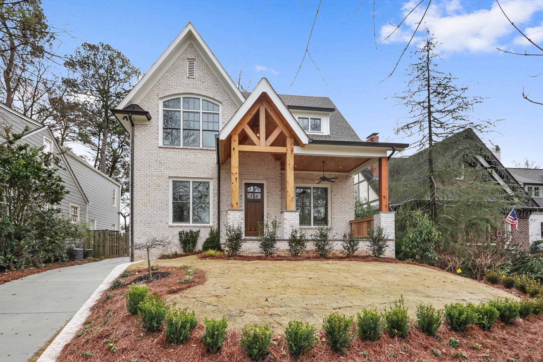 Enfamiljshus för Försäljning vid New Construction in Buckhead - Morris Brandon Elementary 2155 McKinley Rd Atlanta, Georgien 30318 Usa