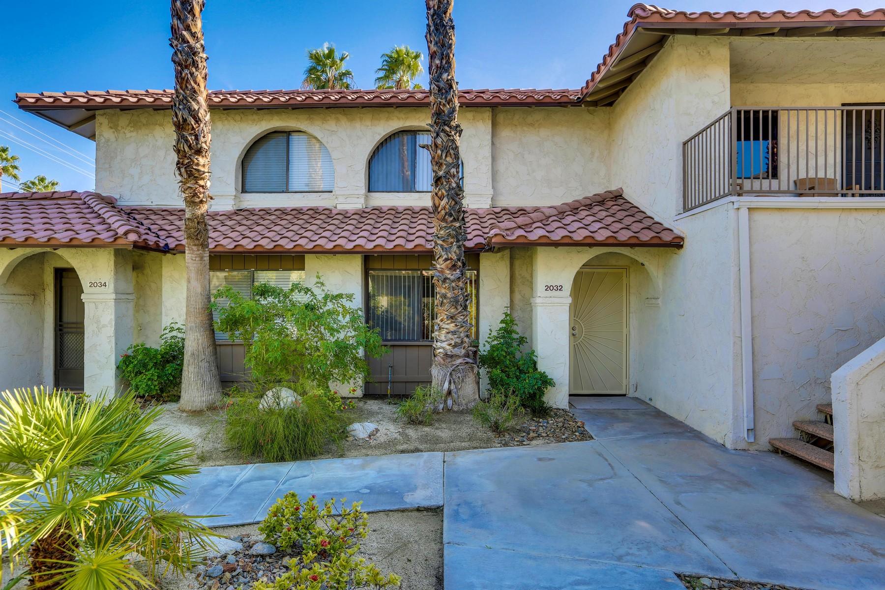 Condominium for Sale at 2032 North Mira Vista Way Palm Springs, California, 92262 United States
