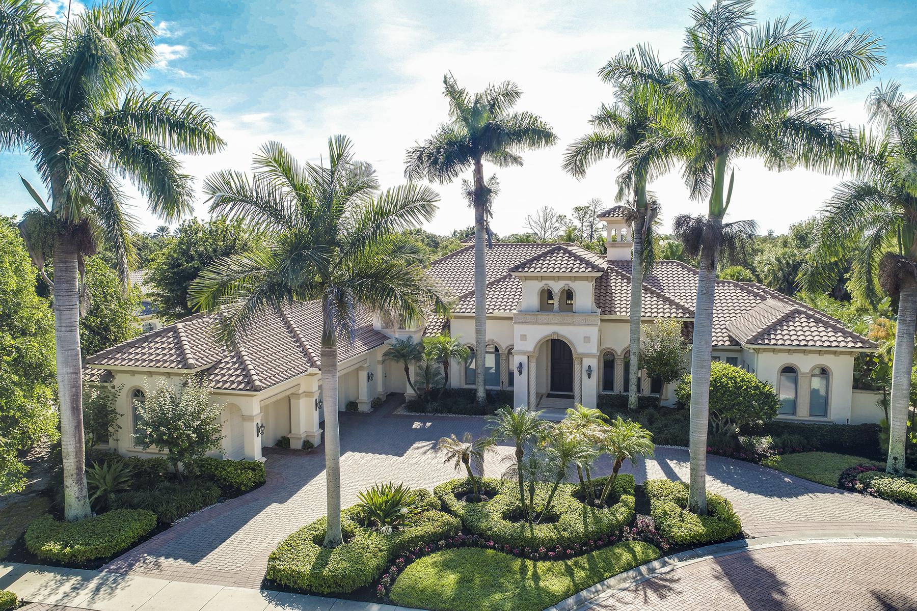 Single Family Homes för Försäljning vid PELICAN MARSH - ESTATES AT BAY COLONY GOLF CLUB 9758 Niblick Lane neapel, Florida 34108 Förenta staterna