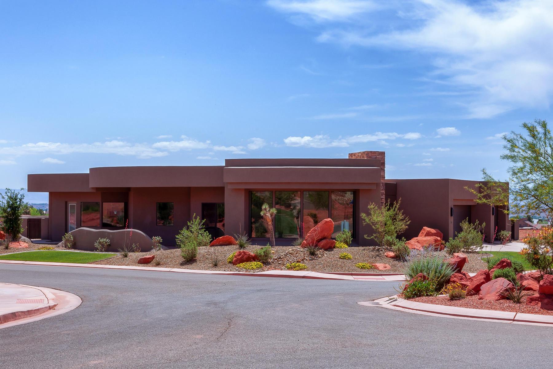 Nhà ở một gia đình vì Bán tại New Construction in the Palisades at Snow Canyon 186 N Desert Lane Ivins, Utah, 84738 Hoa Kỳ