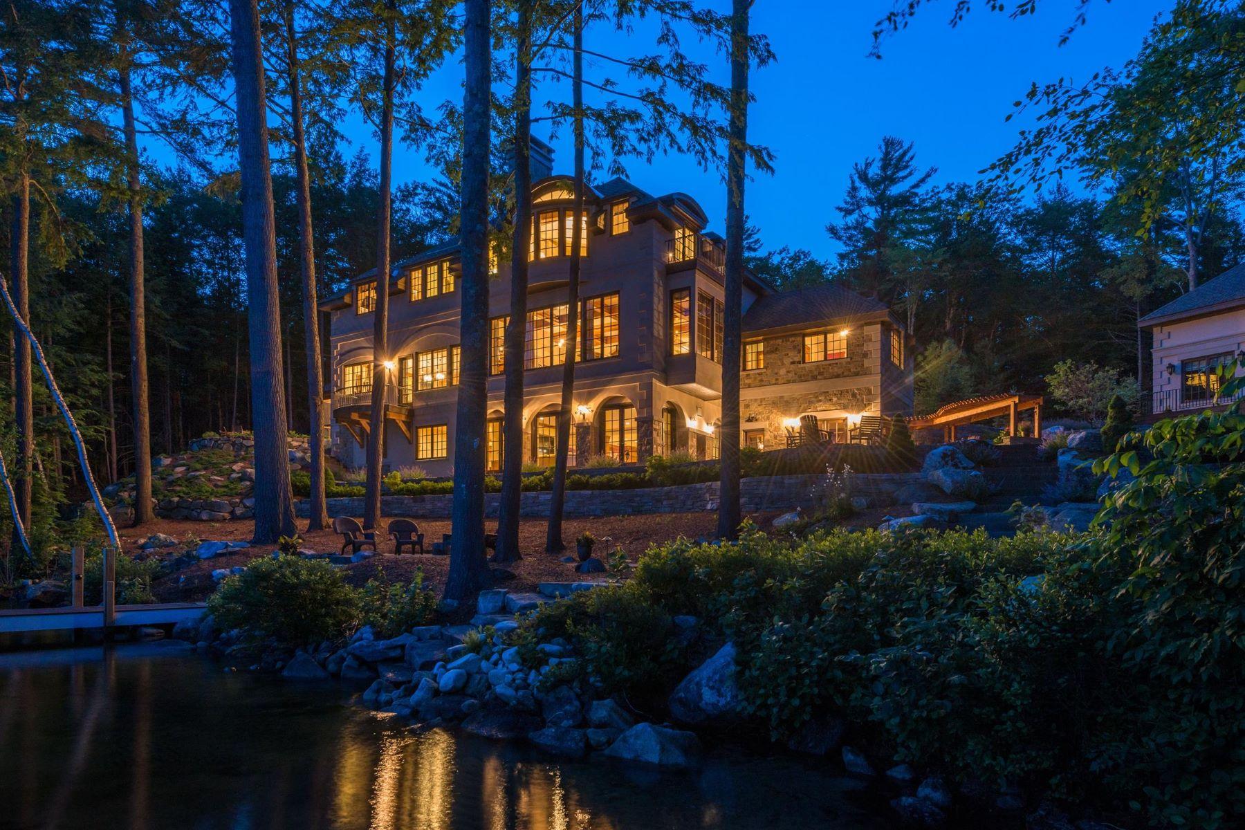 Частный односемейный дом для того Продажа на Lake Sunapee - Platinum Coast 100 Garnet Hill, Sunapee, Нью-Гэмпшир, 03782 Соединенные Штаты