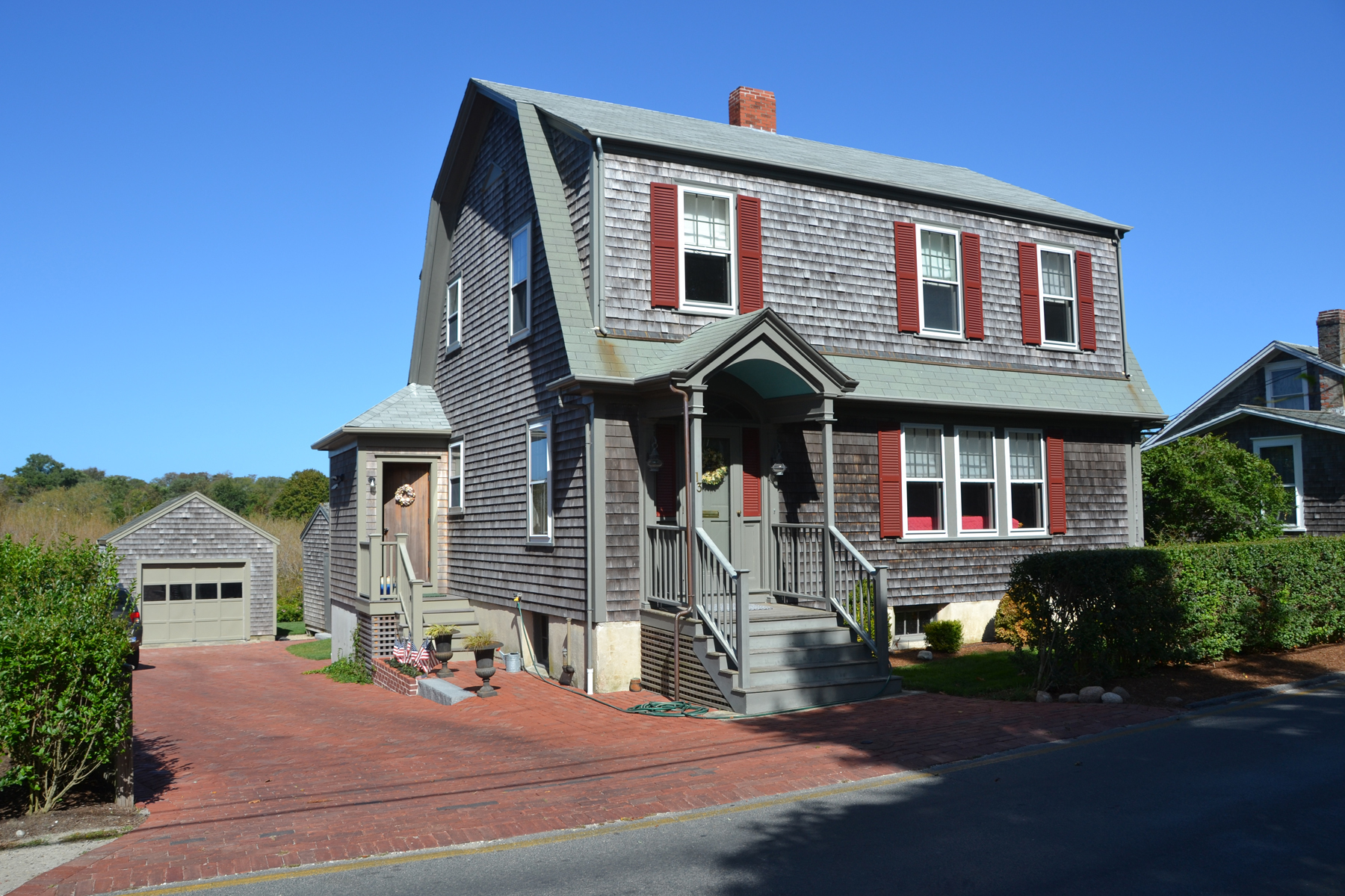 Single Family Home for Sale at Ideally Located in Old Historic District 13 North Liberty Street Nantucket, Massachusetts, 02554 United States