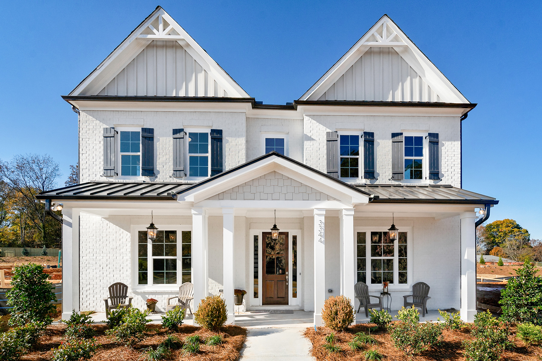 Single Family Homes for Sale at New Construction Home in Smyrna with Master Upstairs 3348 Old Concord Road, Smyrna, Georgia 30082 United States