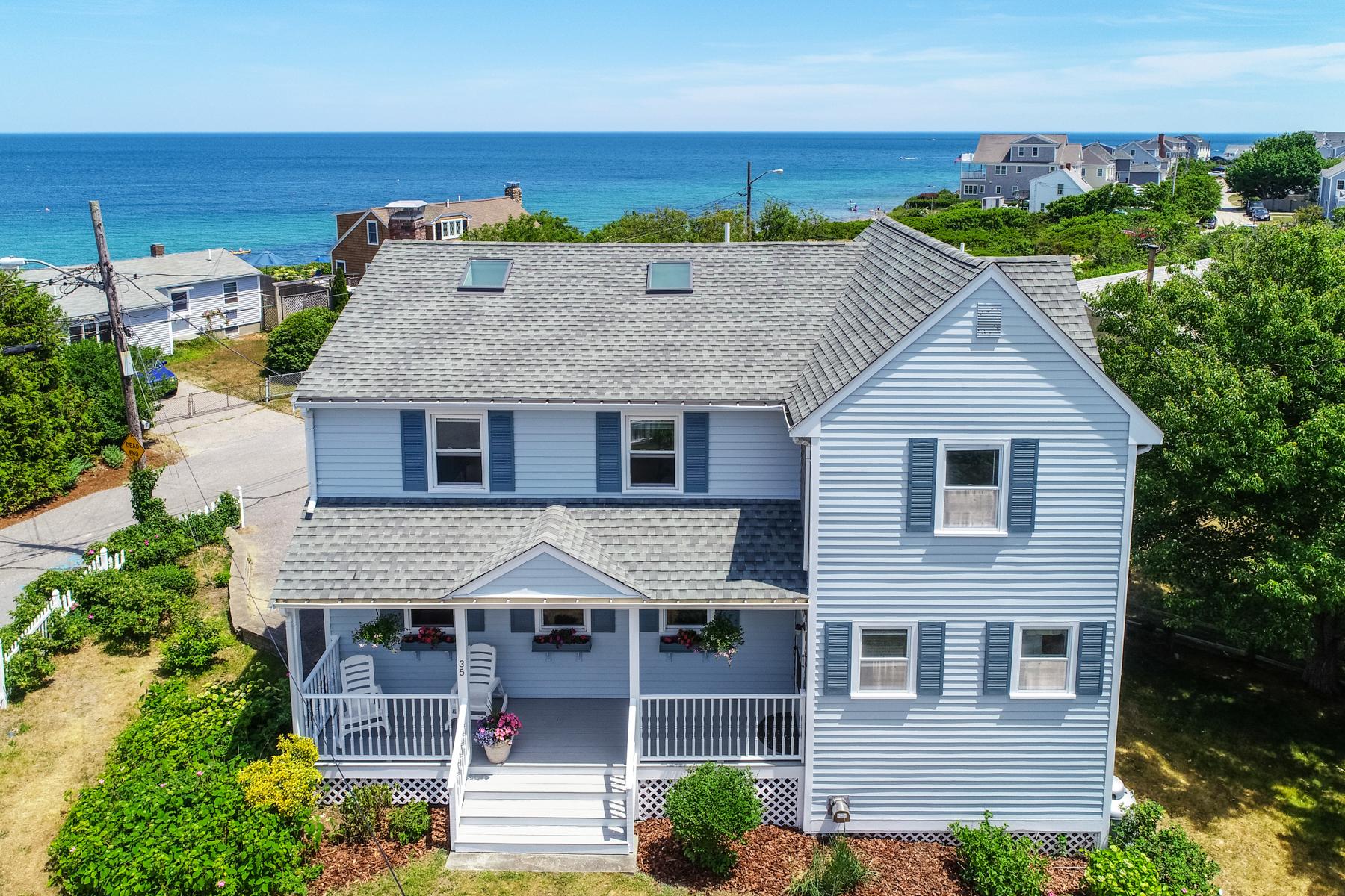 Single Family Homes 为 销售 在 35 Cape View Dr 普利茅斯, 马萨诸塞州 02360 美国