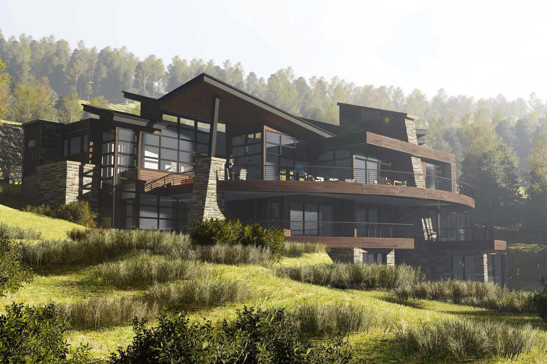 sales property at Stunning ski-in/ski-out new construction with panoramic views