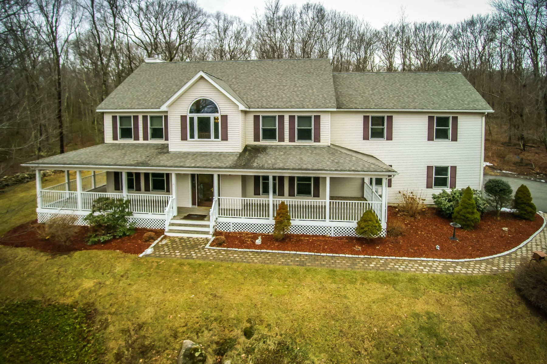 Single Family Home for Sale at Stately Northeast Facing Colonial 50 Orchard Street Upton, Massachusetts 01568 United States
