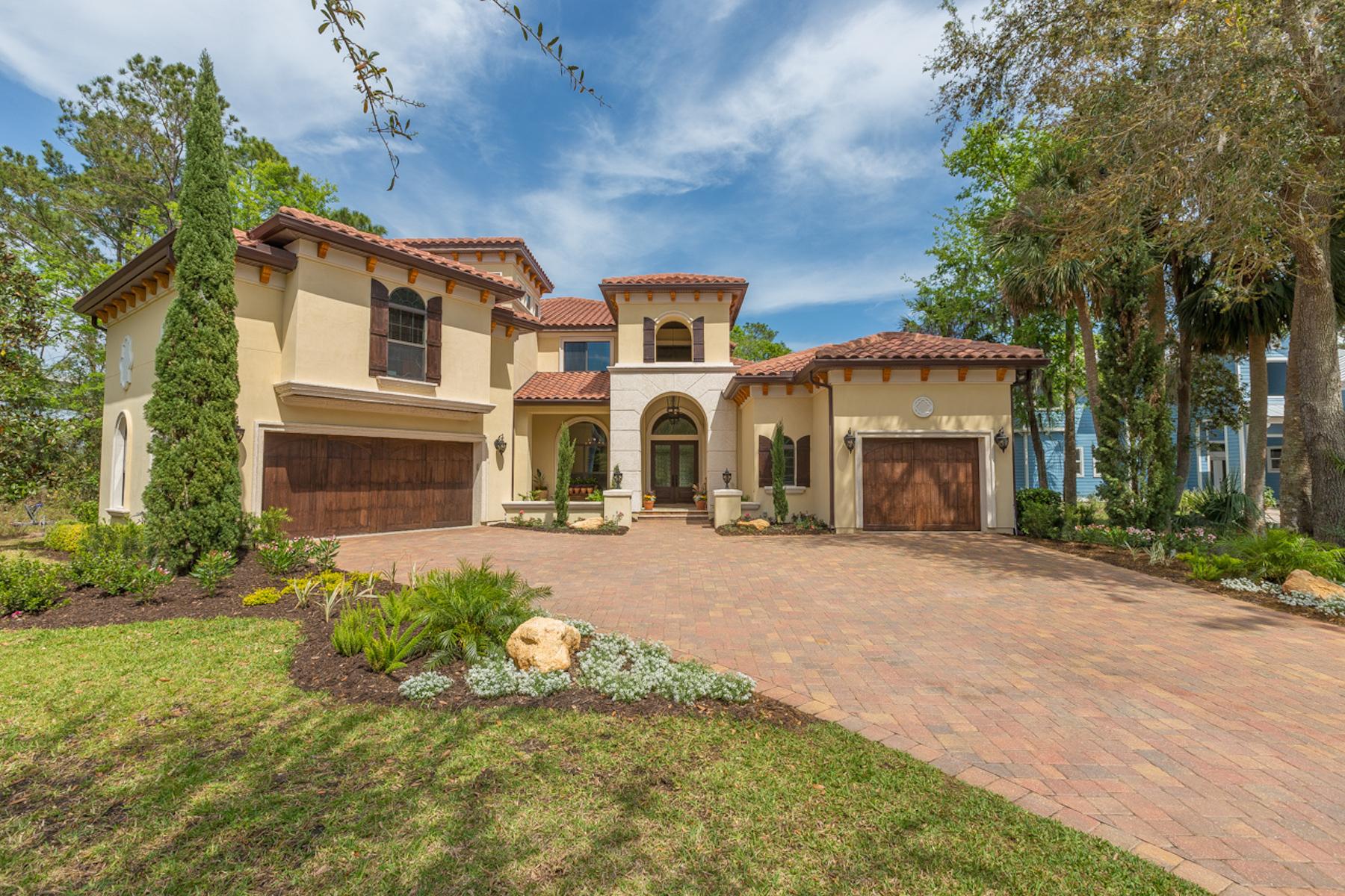 Villa per Vendita alle ore Ponte Vedra Intracoastal Home 120 Preserve Haven View Ponte Vedra Beach, Florida, 32081 Stati Uniti
