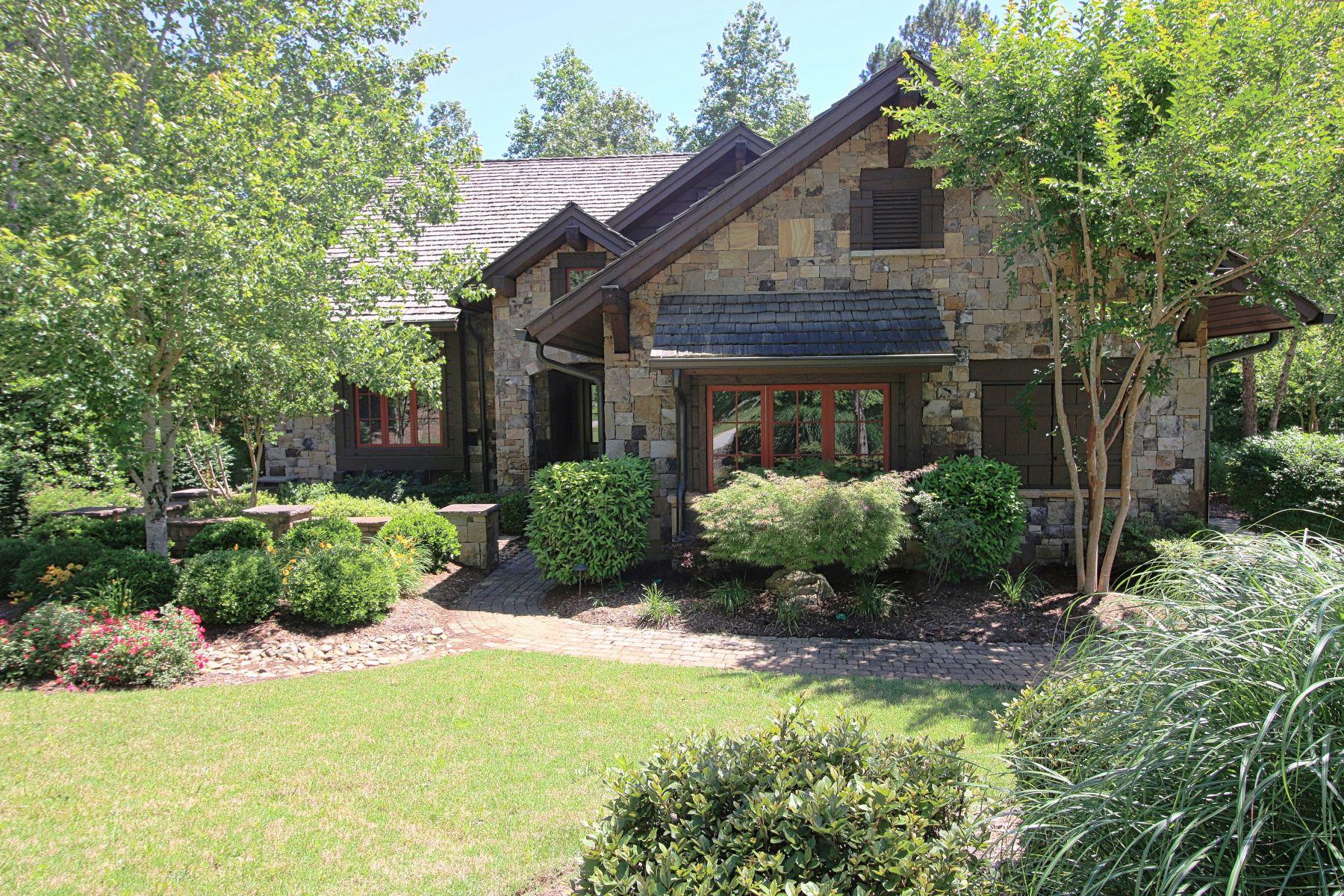 단독 가정 주택 용 매매 에 Wonderful Woodland Home with Furnishings Included! 201 Ironwood Court The Cliffs At Keowee Falls, Salem, 사우스캐놀라이나, 29676 미국
