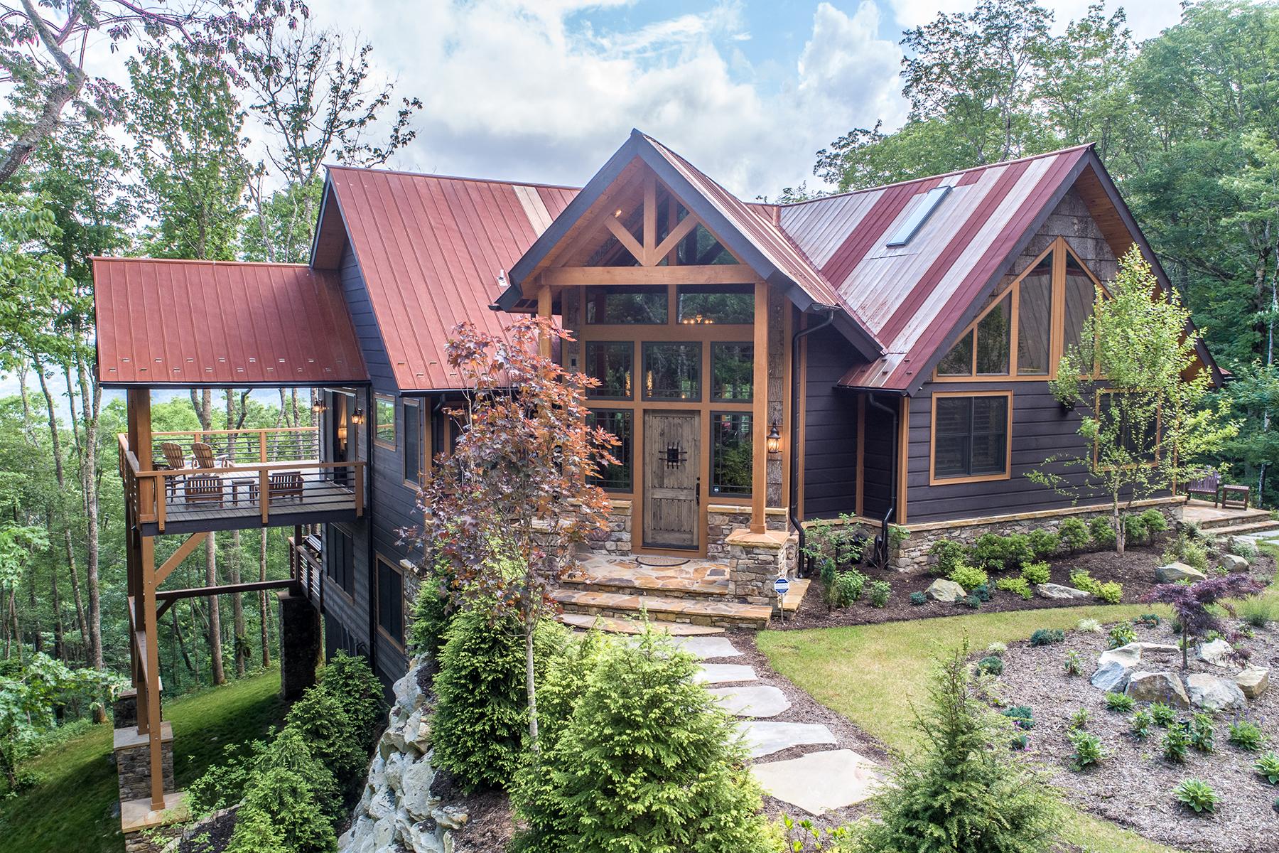 Single Family Homes for Sale at BANNER ELK - THE LODGES AT EAGLES NEST 228 Lodge Woods Trl Banner Elk, North Carolina 28604 United States