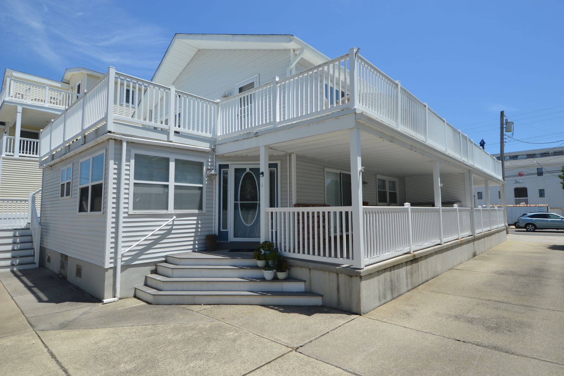Condominium for Sale at Essential Beach Town Condo 5604 Landis Avenue, Unit B, Sea Isle City, New Jersey 08243 United States