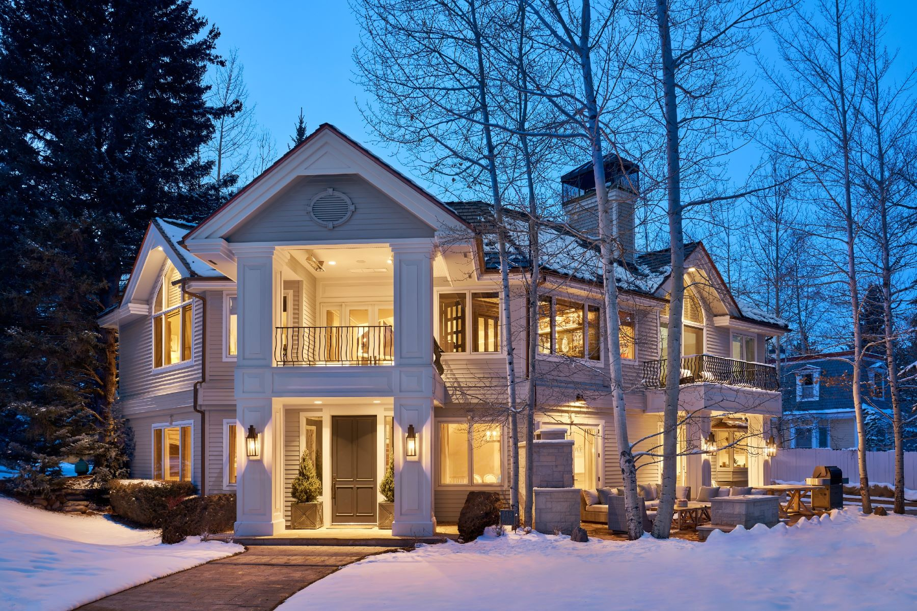 Single Family Home for Sale at Prominent West End Luxury 315 Lake Avenue, Aspen, Colorado, 81611 United States