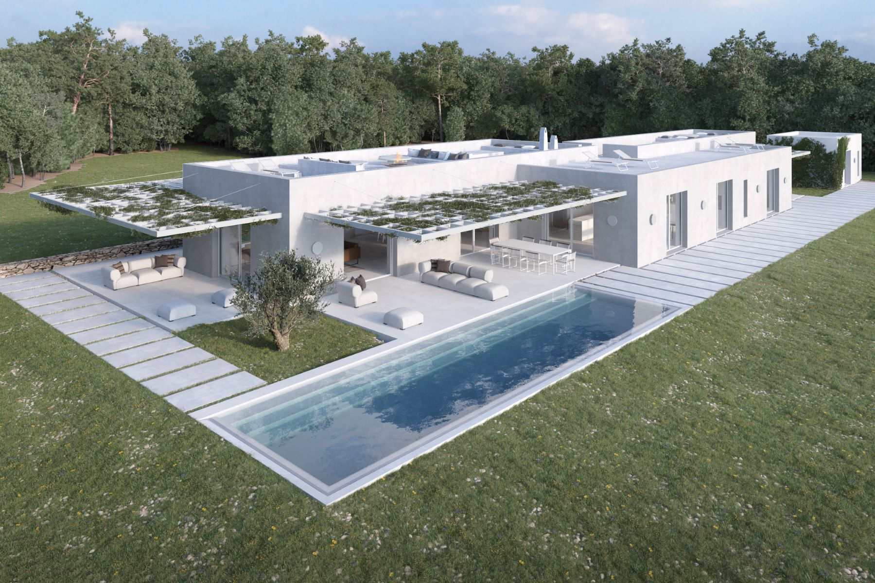 Single Family Homes for Sale at Distinctive Modern Home with Sea View in Cap de Barbaria, Formentera Formentera Formentera, Balearic Islands 07860 Spain