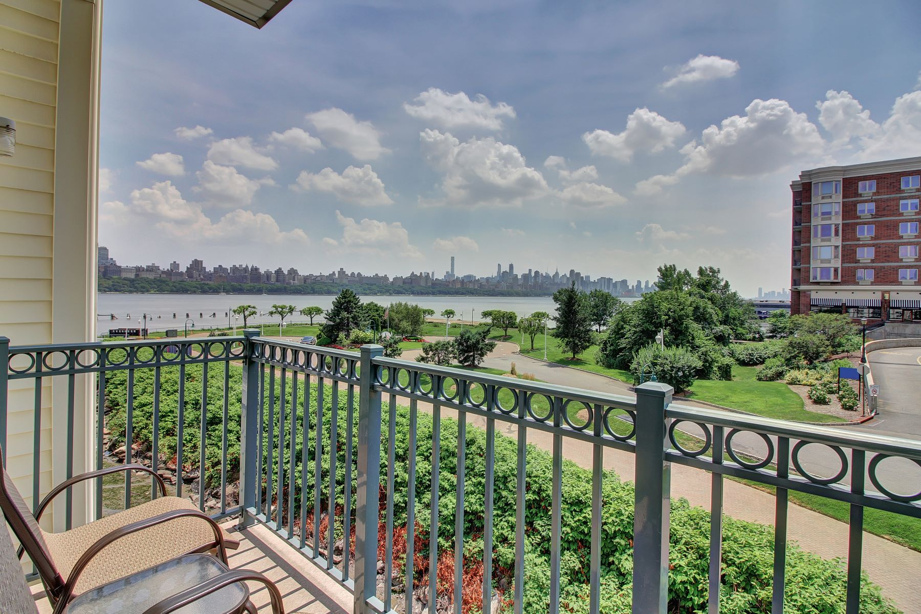 Condominium for Rent at Enjoy direct Hudson River & NYC views 234 The Promenade Edgewater, New Jersey 07020 United States