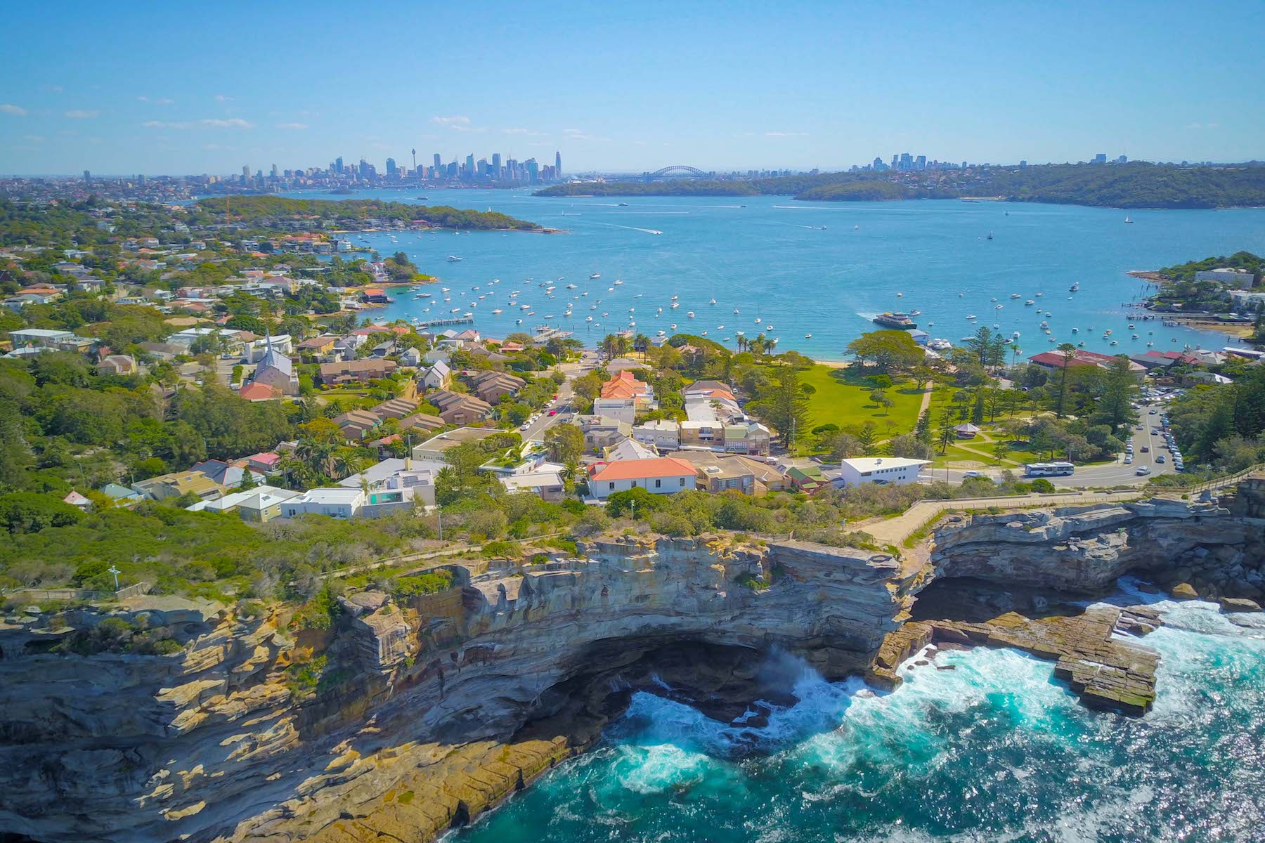 Single Family Homes pour l Vente à 8 Gap Road, Watson's Bay 8 Gap Road, Watsons Bay Sydney, Nouvelle-Galles du Sud 2030 Australie
