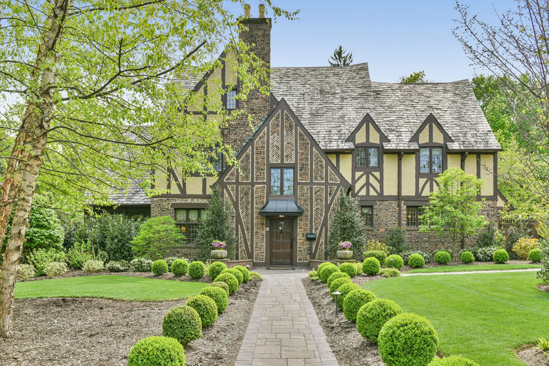 Single Family Home for Sale at Elegant, Charming Tudor 86 Warren Place Montclair, New Jersey 07042 United States