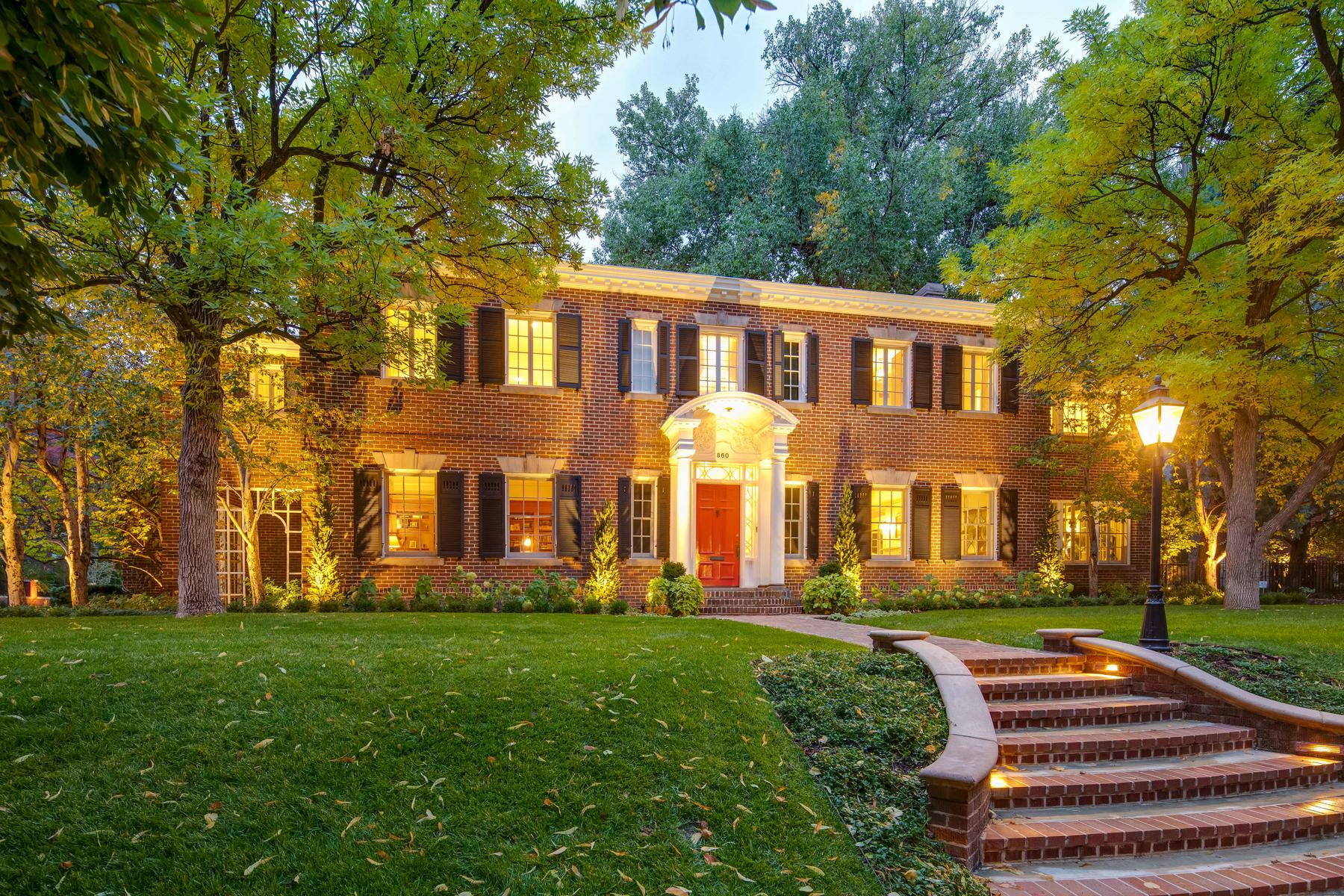 Additional photo for property listing at Elegant Georgian Estate 860 Vine St Denver, Colorado 80206 United States