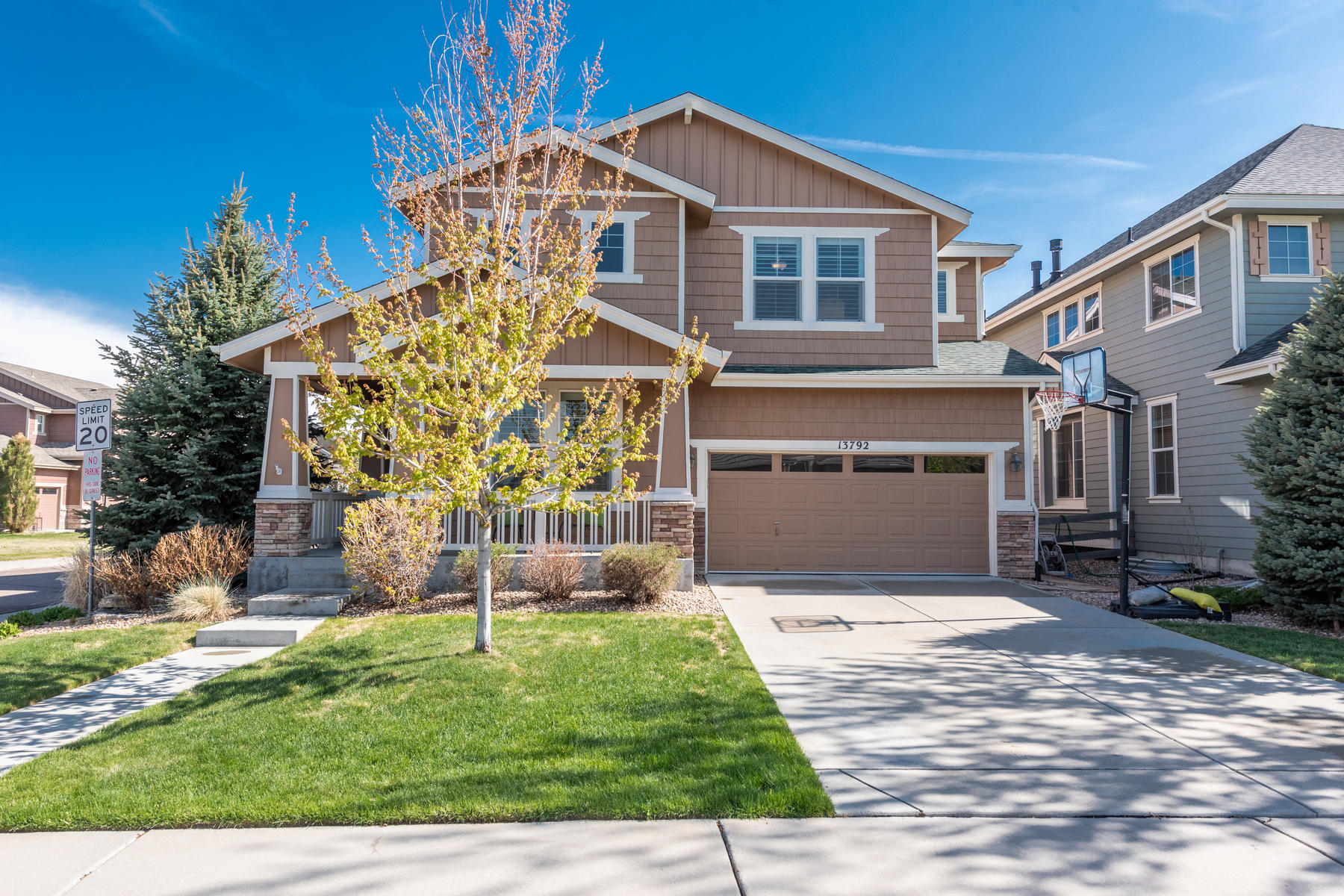 Single Family Homes for Sale at Bright & Open 4 Bedroom in Cherry Creek School District 13792 E Caley Avenue Centennial, Colorado 80111 United States