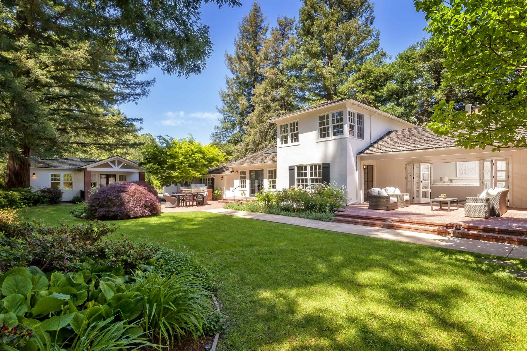 Single Family Homes for Active at 184 Tuscaloosa Ave Atherton, California 94027 United States