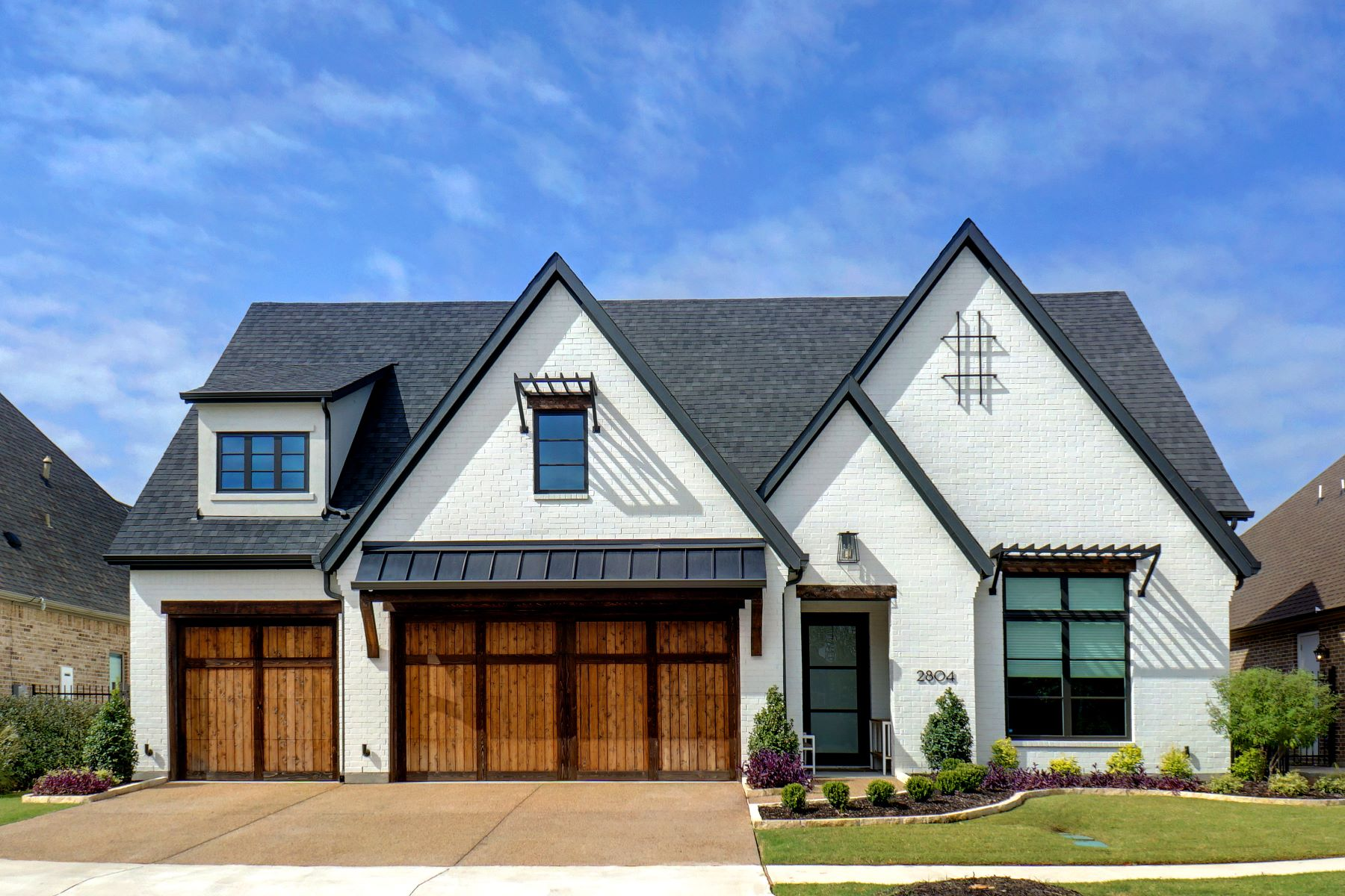 Single Family Homes for Sale at No Expense Spared in Modern Home 2804 Riverbrook Way Southlake, Texas 76092 United States