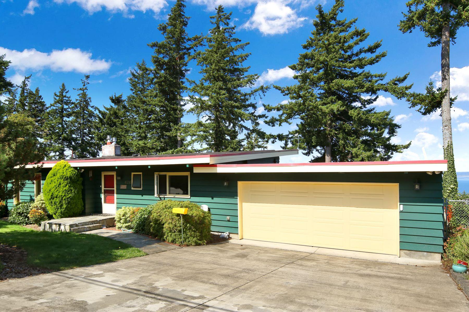 Single Family Homes for Sale at Midcentury Masterpiece 426 Highland Dr Bellingham, Washington 98225 United States