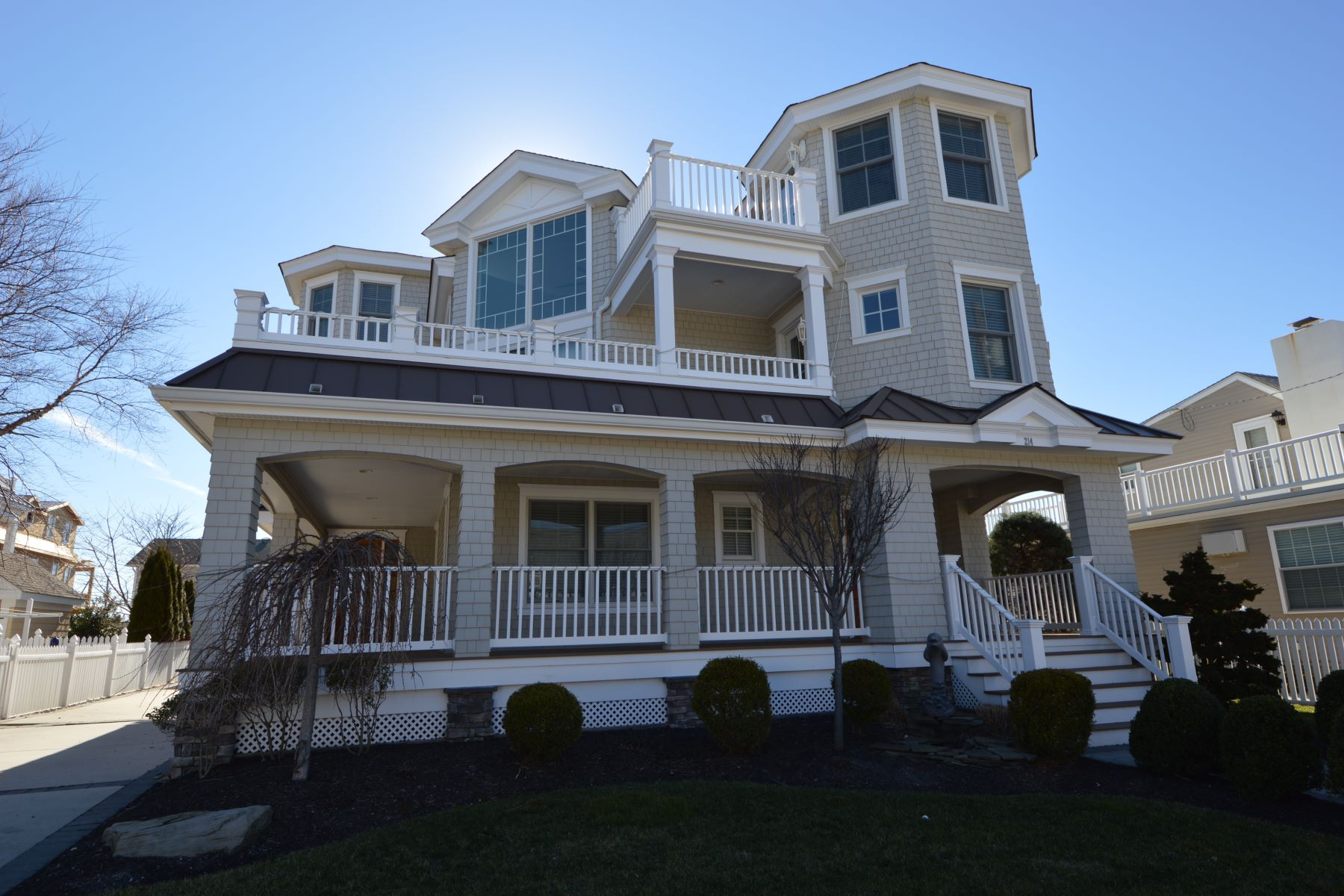Single Family Home for Rent at Elegant Island Home 214 69th Street, Avalon, New Jersey 08202 United States