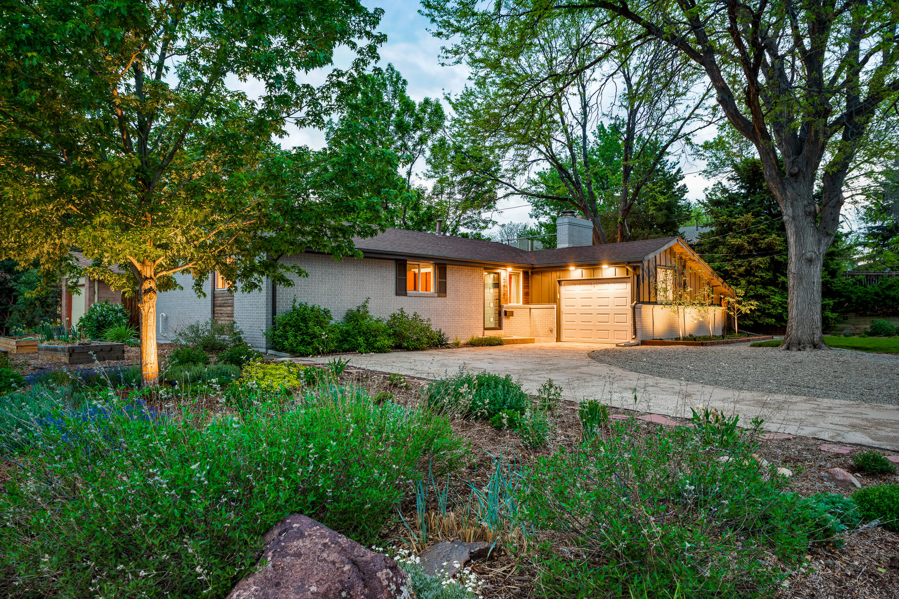 Single Family Homes for Sale at Open, Bright, Positively Charming Mid-Century Modern Ranch 6275 Nelson Street Arvada, Colorado 80004 United States