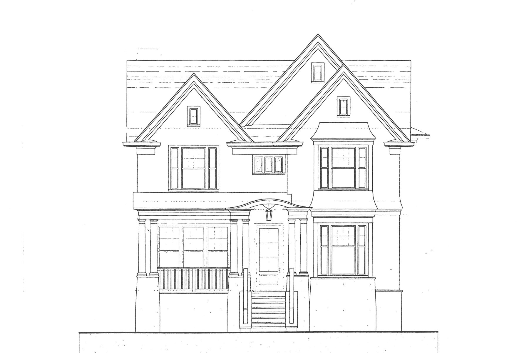 Single Family Home for Sale at New Construction in Buckhead 2877 N Fulton Drive NE Garden Hills, Atlanta, Georgia, 30305 United States