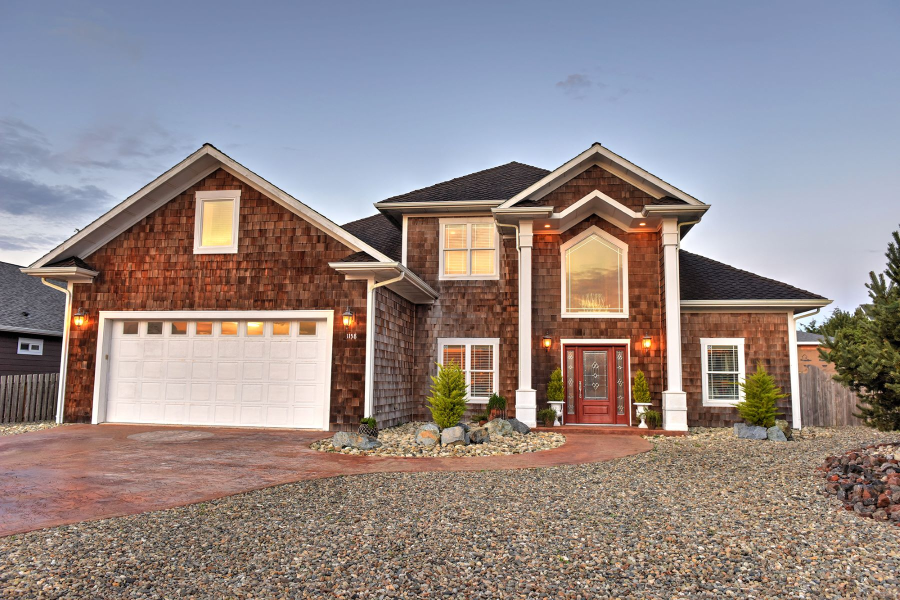 Single Family Home for Sale at Sophisticated Contemporary 1158 Three Wood Drive, Bandon, Oregon, 97411 United States