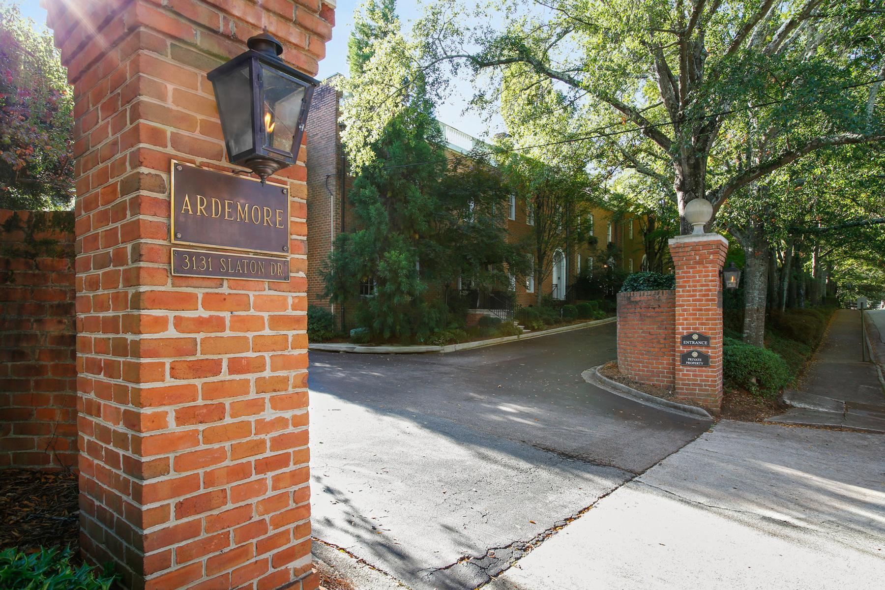 townhouses pour l Vente à Buckhead's Best Kept Secret - Ardemore 3131 Slaton Drive NW No. 27, Atlanta, Georgia 30305 États-Unis