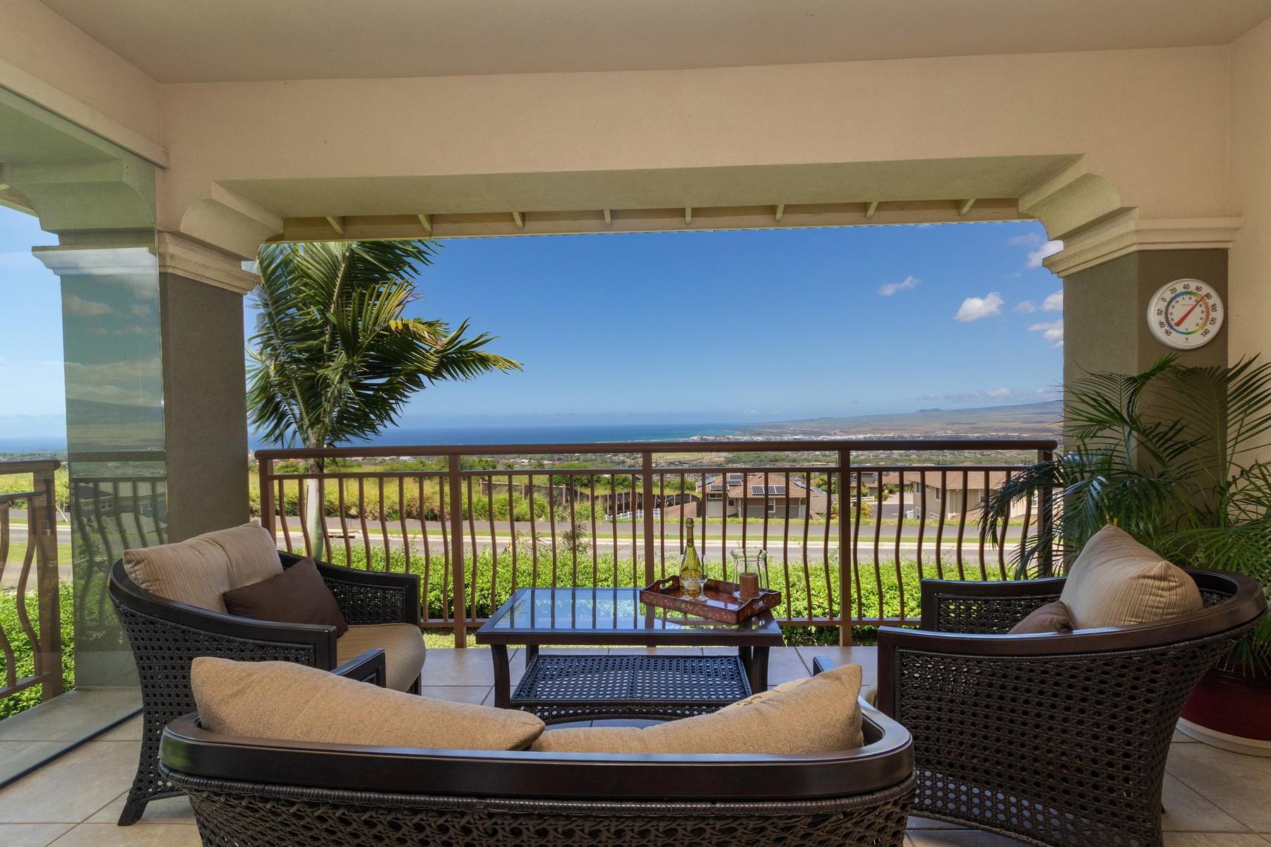 Townhouse for Active at Front Row - Infinite Views 15 Awela Circle, Villas at Kehalani #101 Wailuku, Hawaii 96793 United States