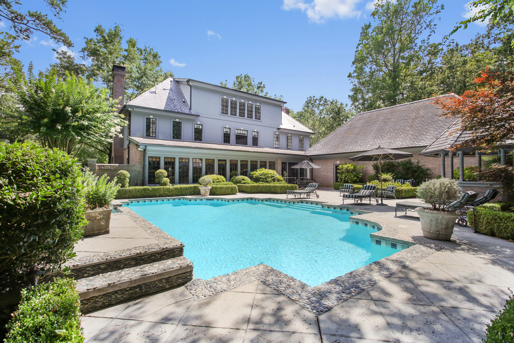 Single Family Home for Sale at Sophisticated Home In Heart Of Buckhead 730 Conway Glen Drive NW Buckhead, Atlanta, Georgia, 30327 United States